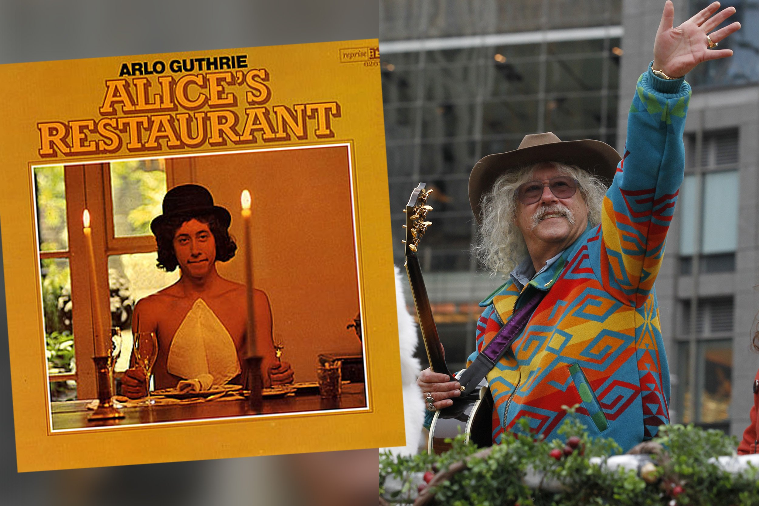 Woody Guthrie 100 >> Arlo Guthrie Returns to 'Alice's Restaurant' 50 Years Later