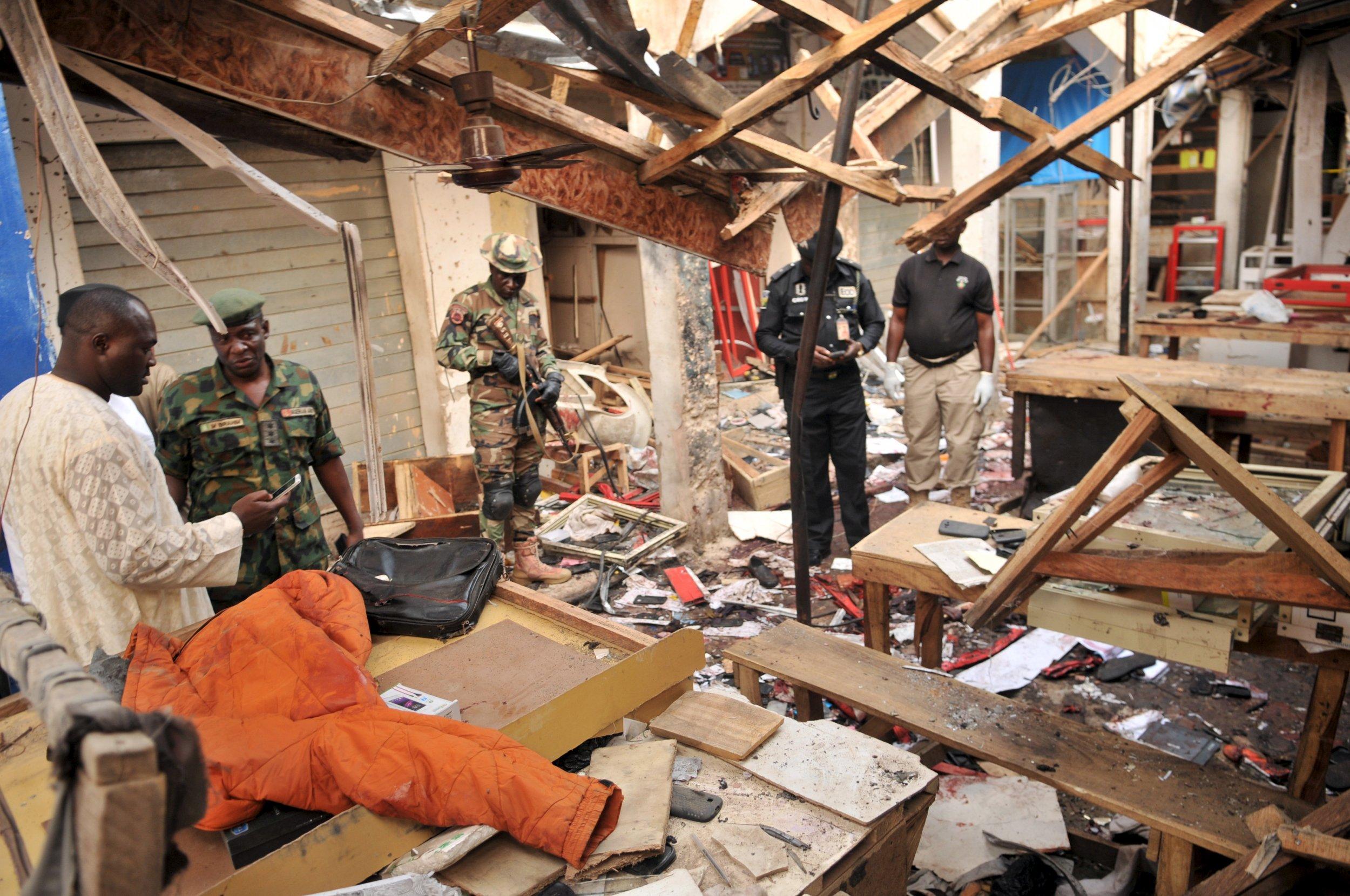 Boko Haram Nigeria Soldiers Middle East