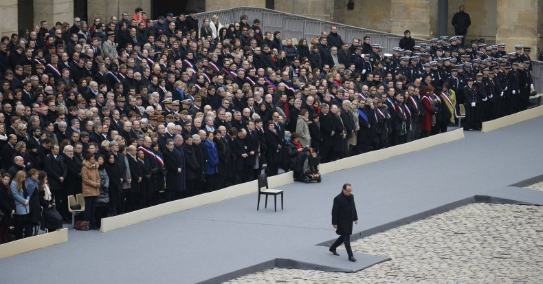 Hollande Mourning