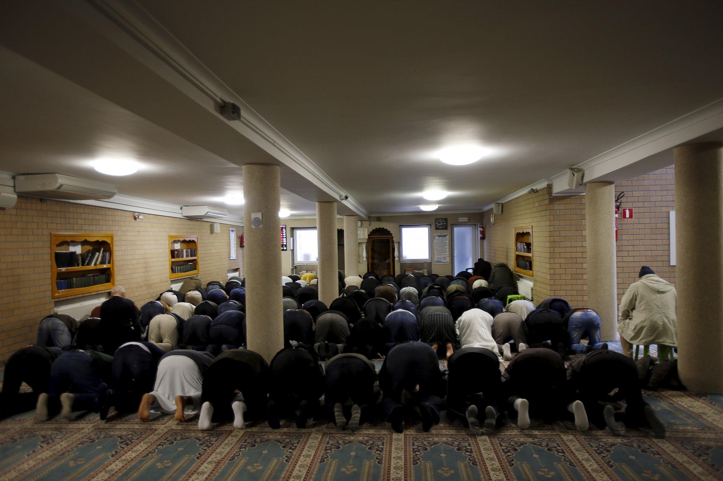 Belgium Molenbeek Mosque