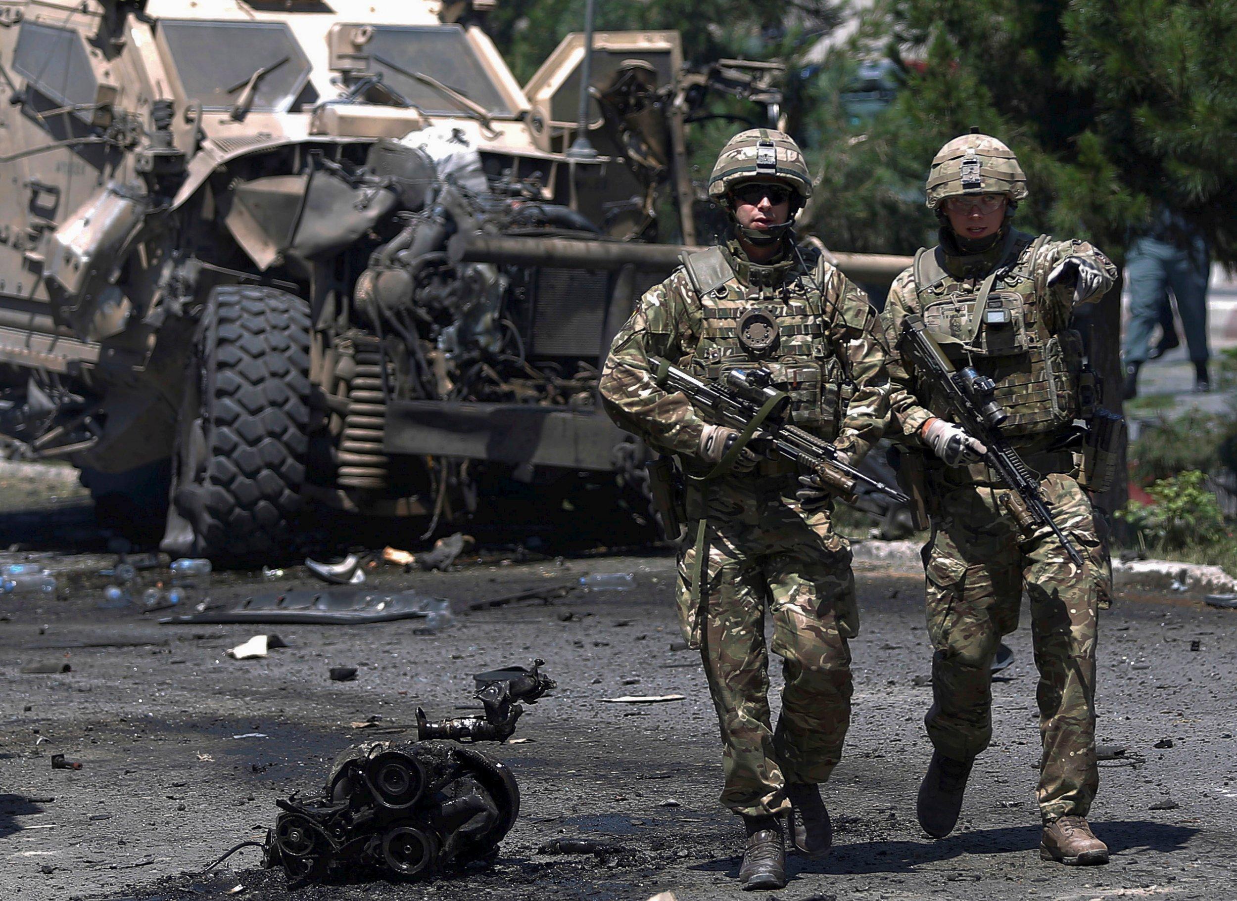 Kabul Attack US NATO