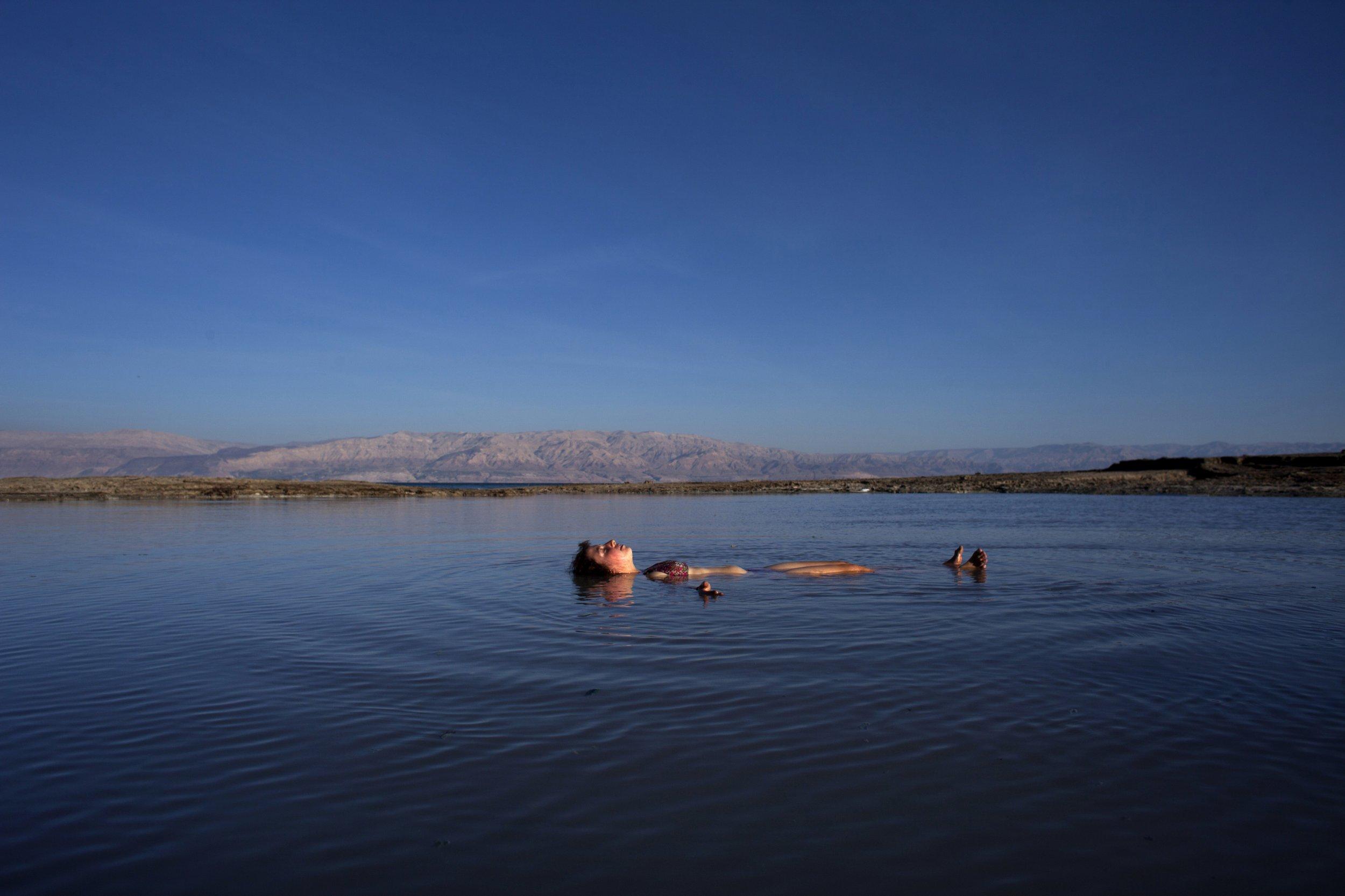 Dead Sea Red Sea Israel Middle East