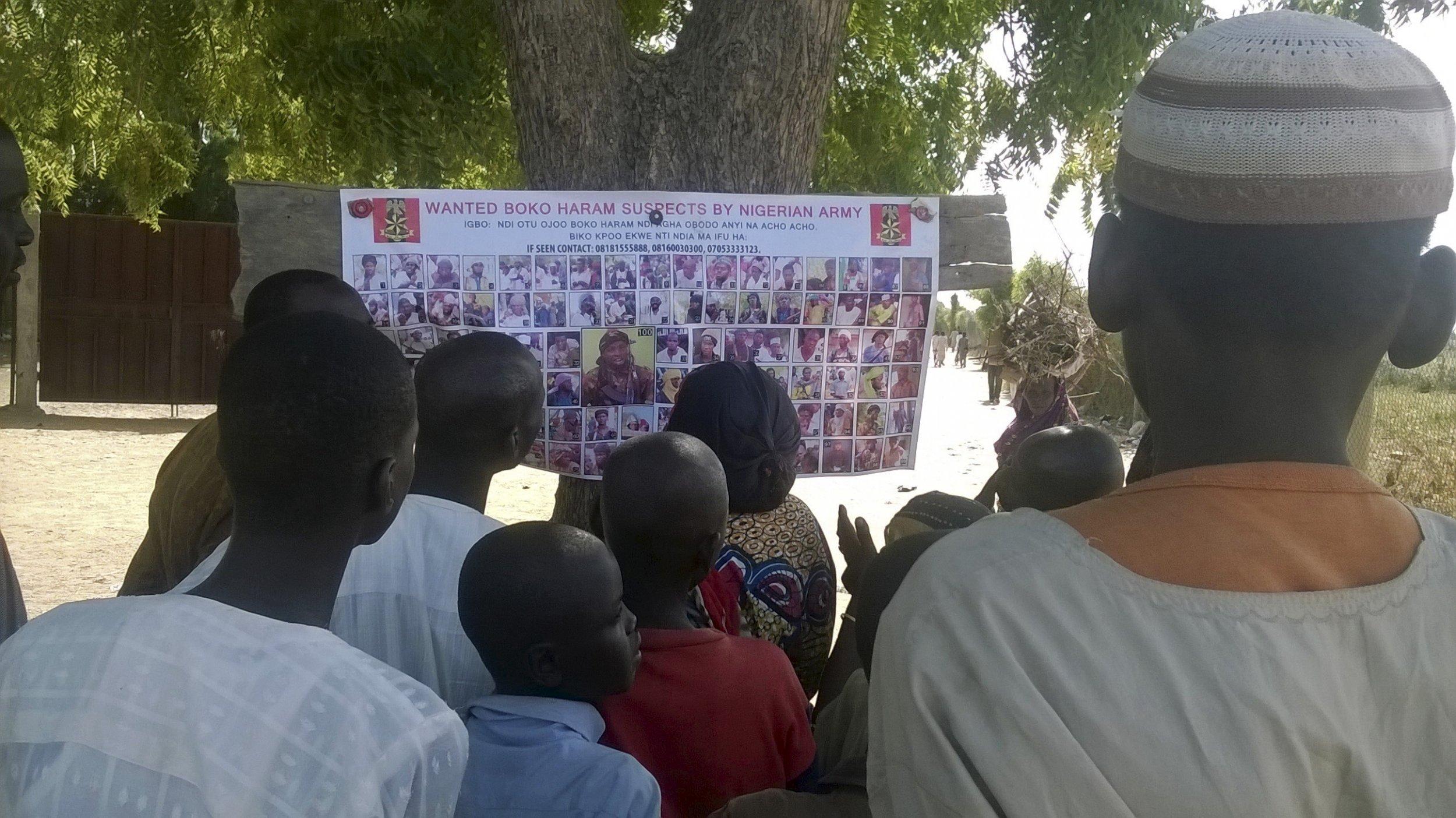 1201 Boko Haram wanted