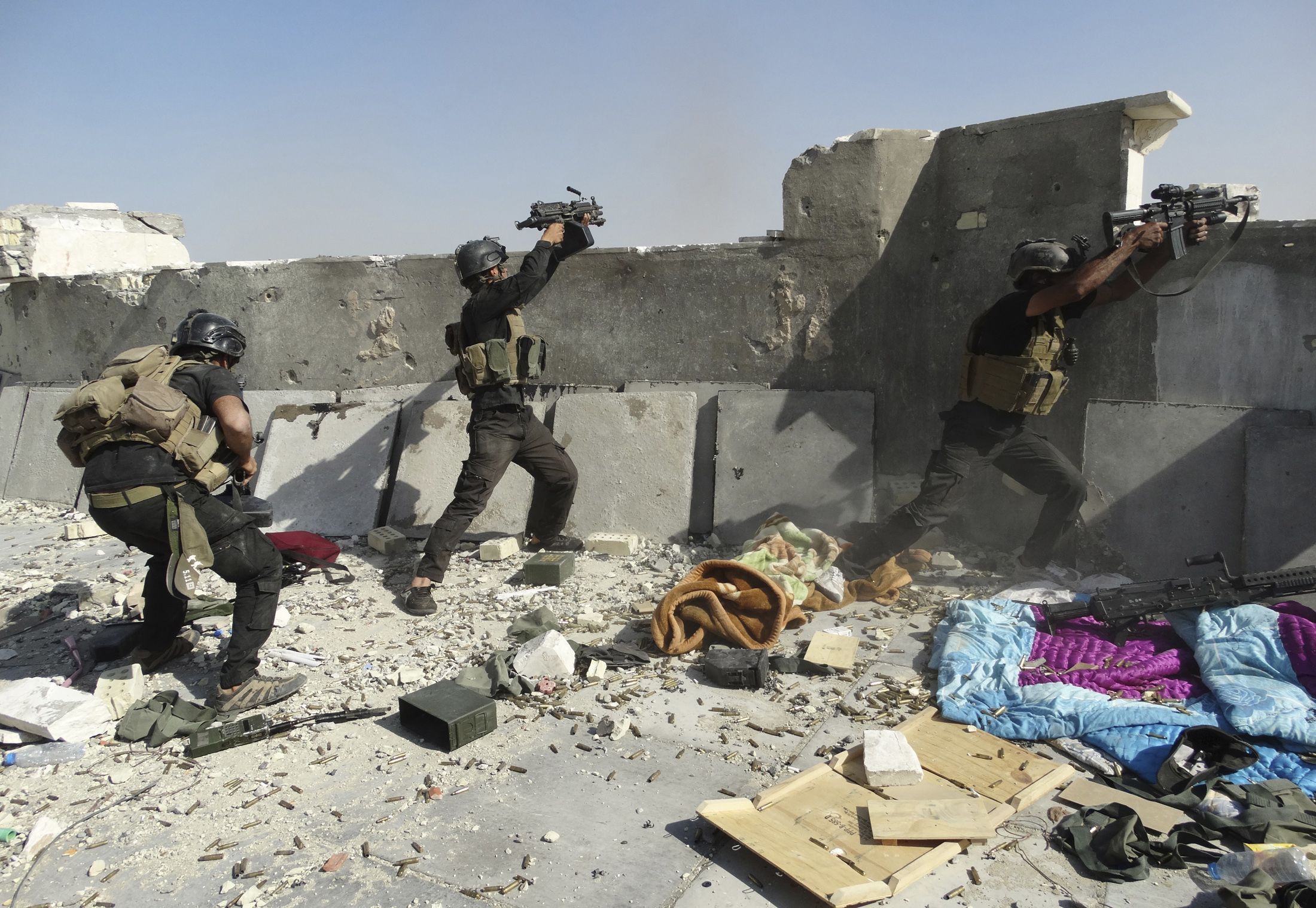 The fight against ISIS