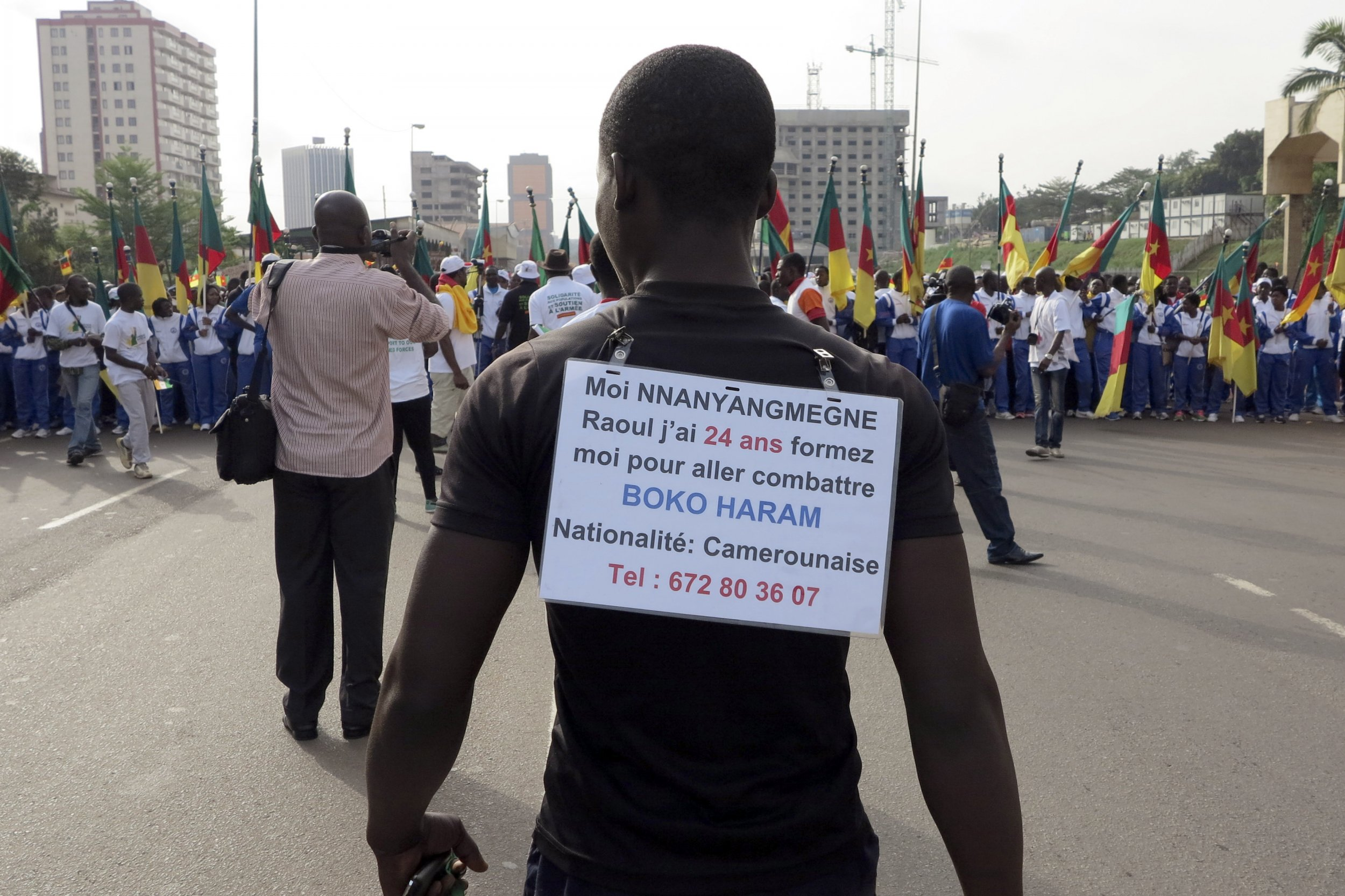 1202 Boko Haram protest Cameroon