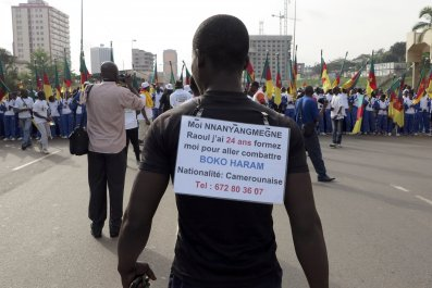 1202 Boko Haram protest Cameroon