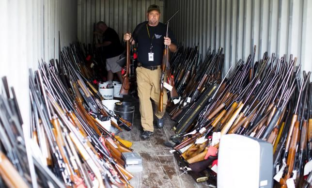 How One Man In South Carolina Hoarded Roughly 5 000 Guns