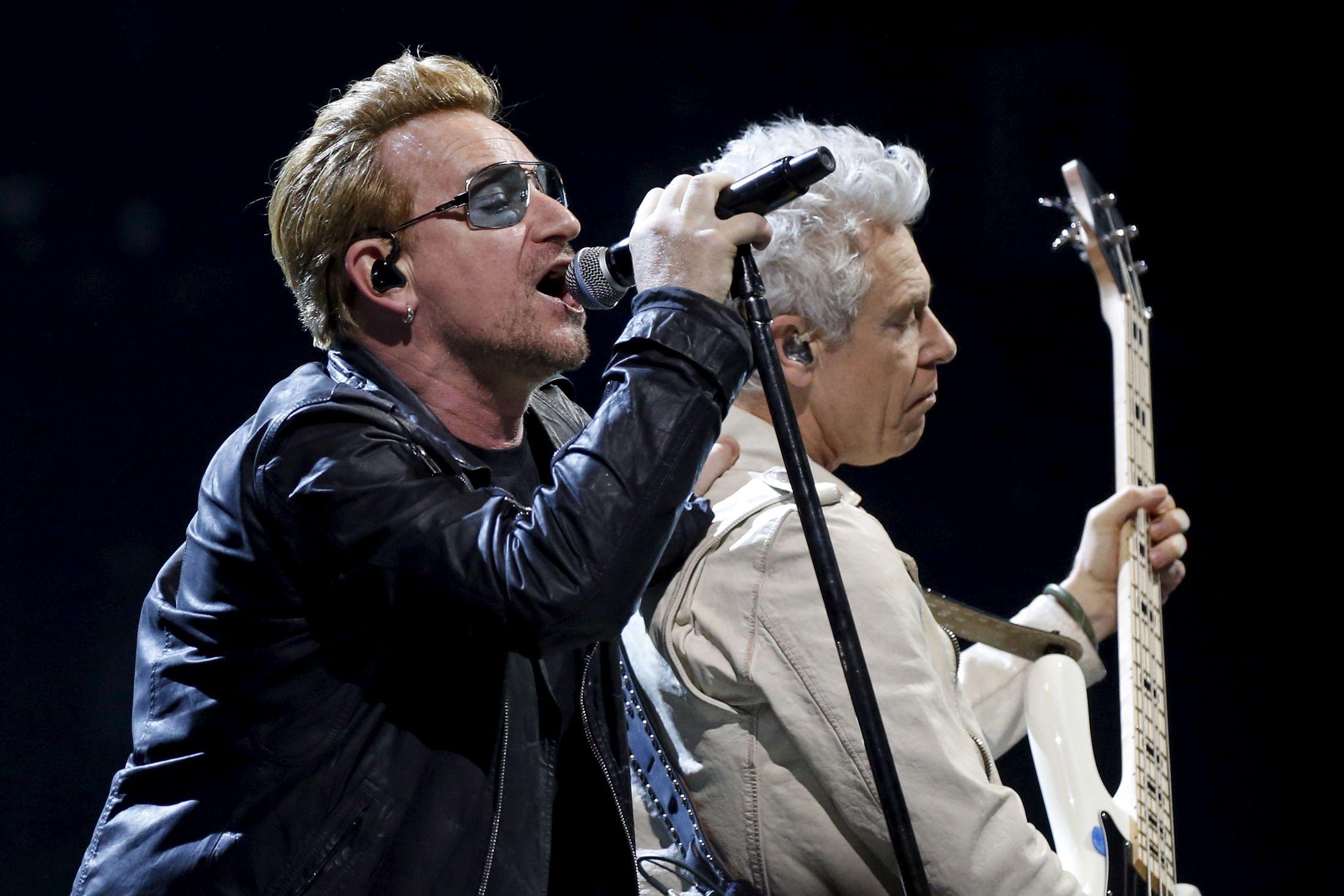 U2 play Paris concert and honor victims of attacks