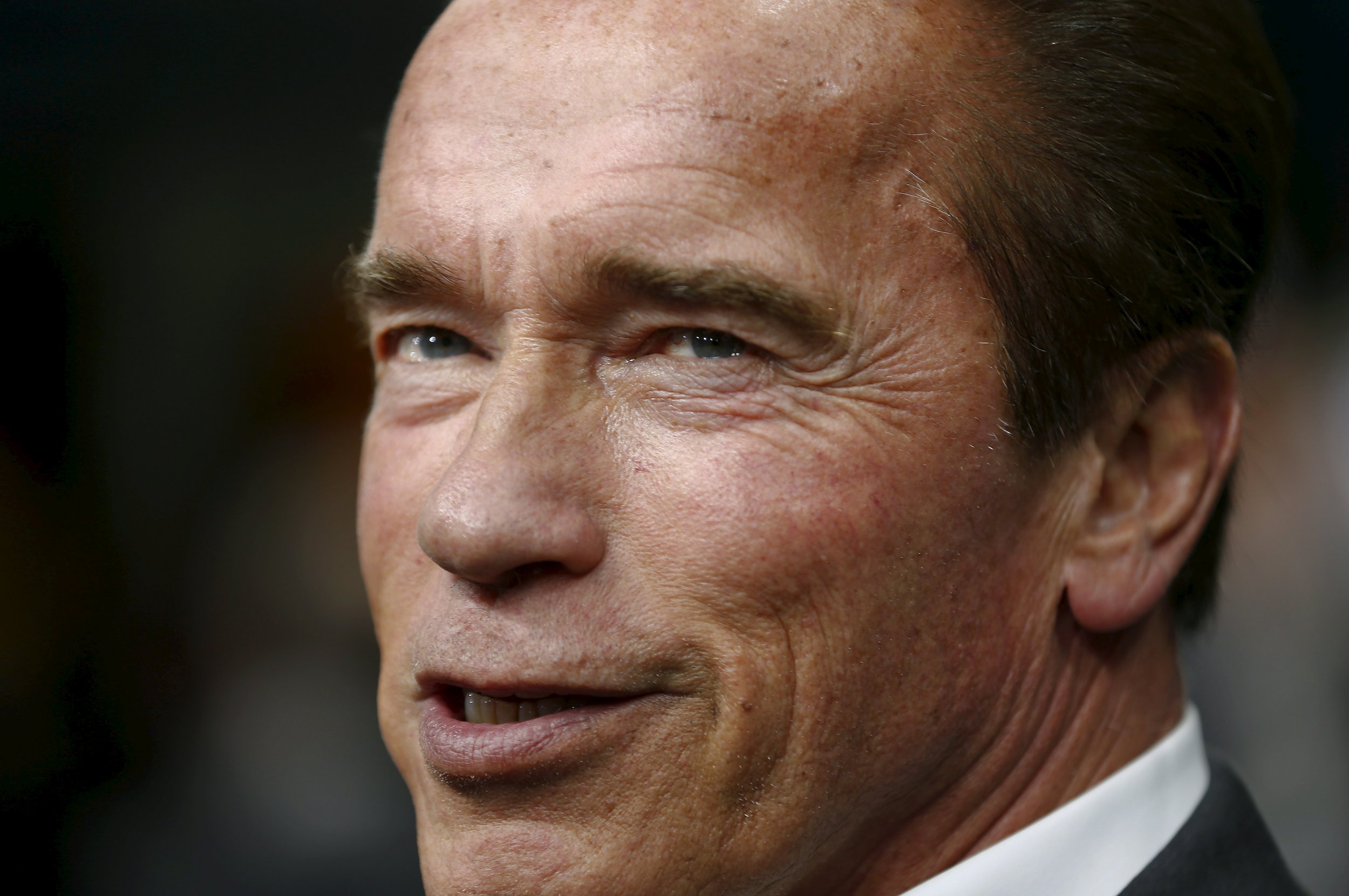Arnold Schwarzenegger Doesn't Give a Damn if You Don't ... Arnold Schwarzenegger