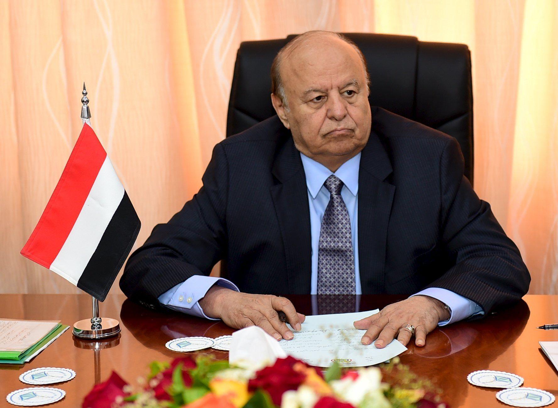 Abd-Rabbu Mansour Hadi calls for cease fire