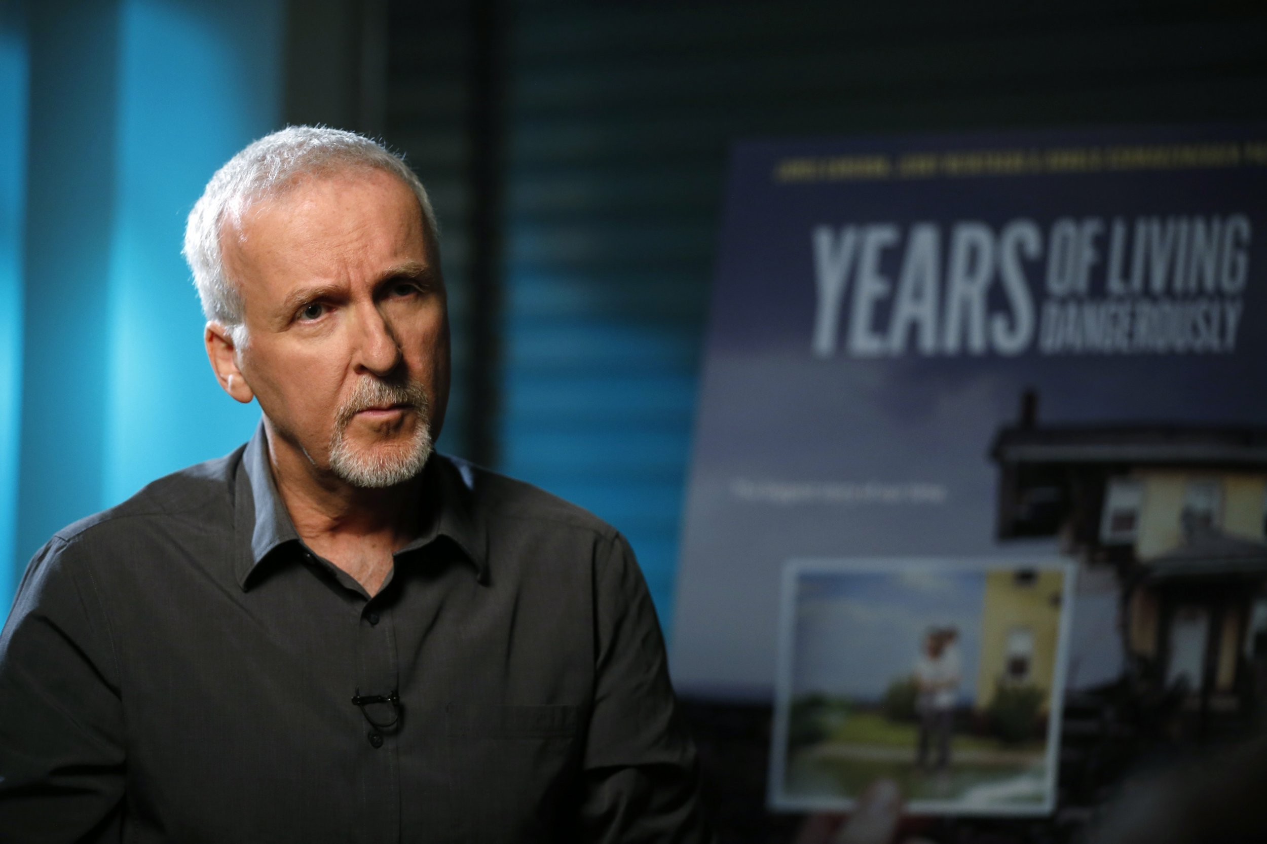 James Cameron: Explorer, director and climate change activist