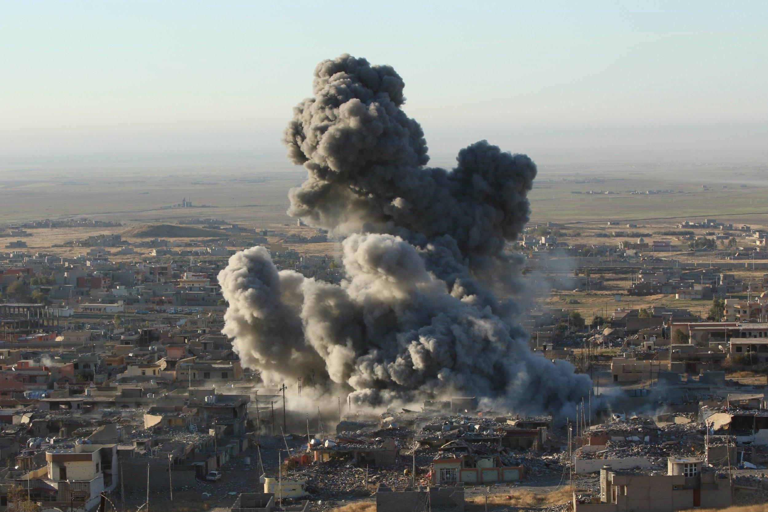 ISIS Strikes Oil Sinjar Iraq
