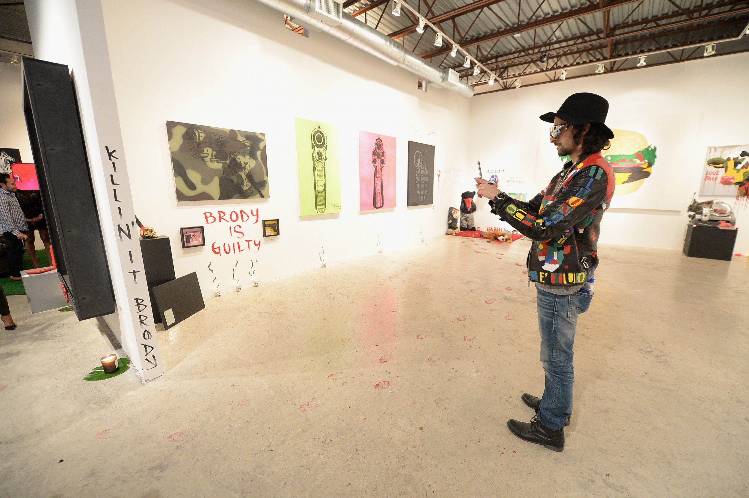A Brooklyn Artist, the North Atlantic Garbage Patch and ... Adrien Brody Art