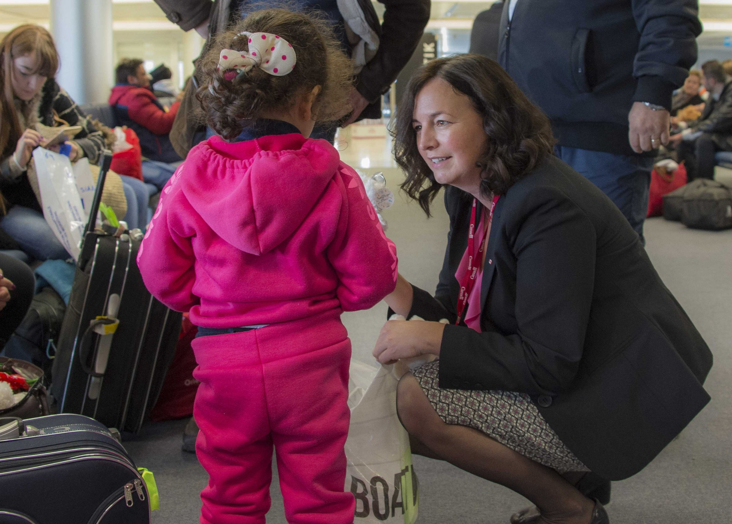 Syrian refugees head to canada