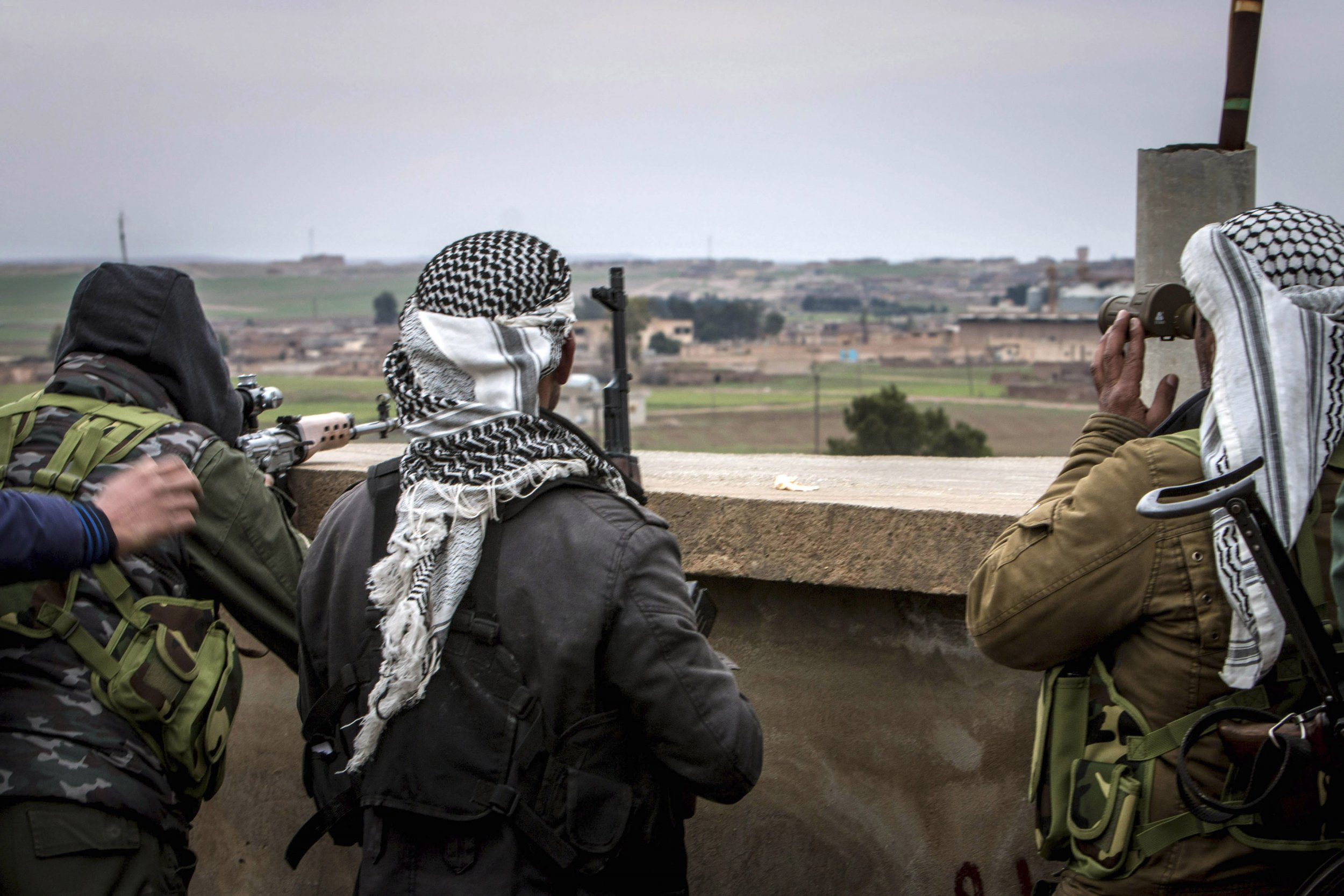 Syria Kurds ISIS Middle East Islamic State
