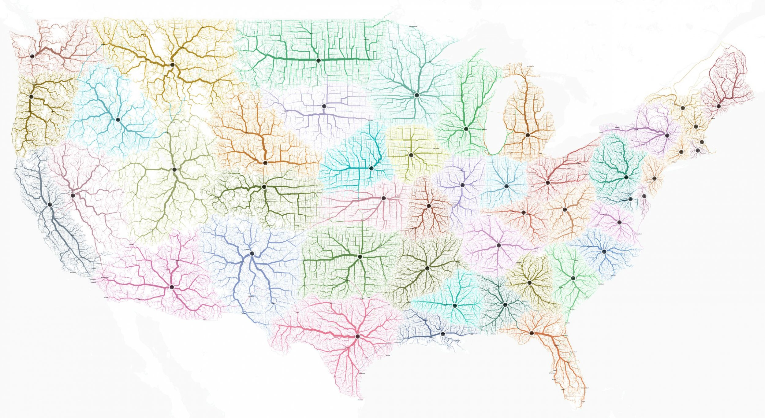 Printable US Map Template USA Map With States United States Maps - Interactive us road map