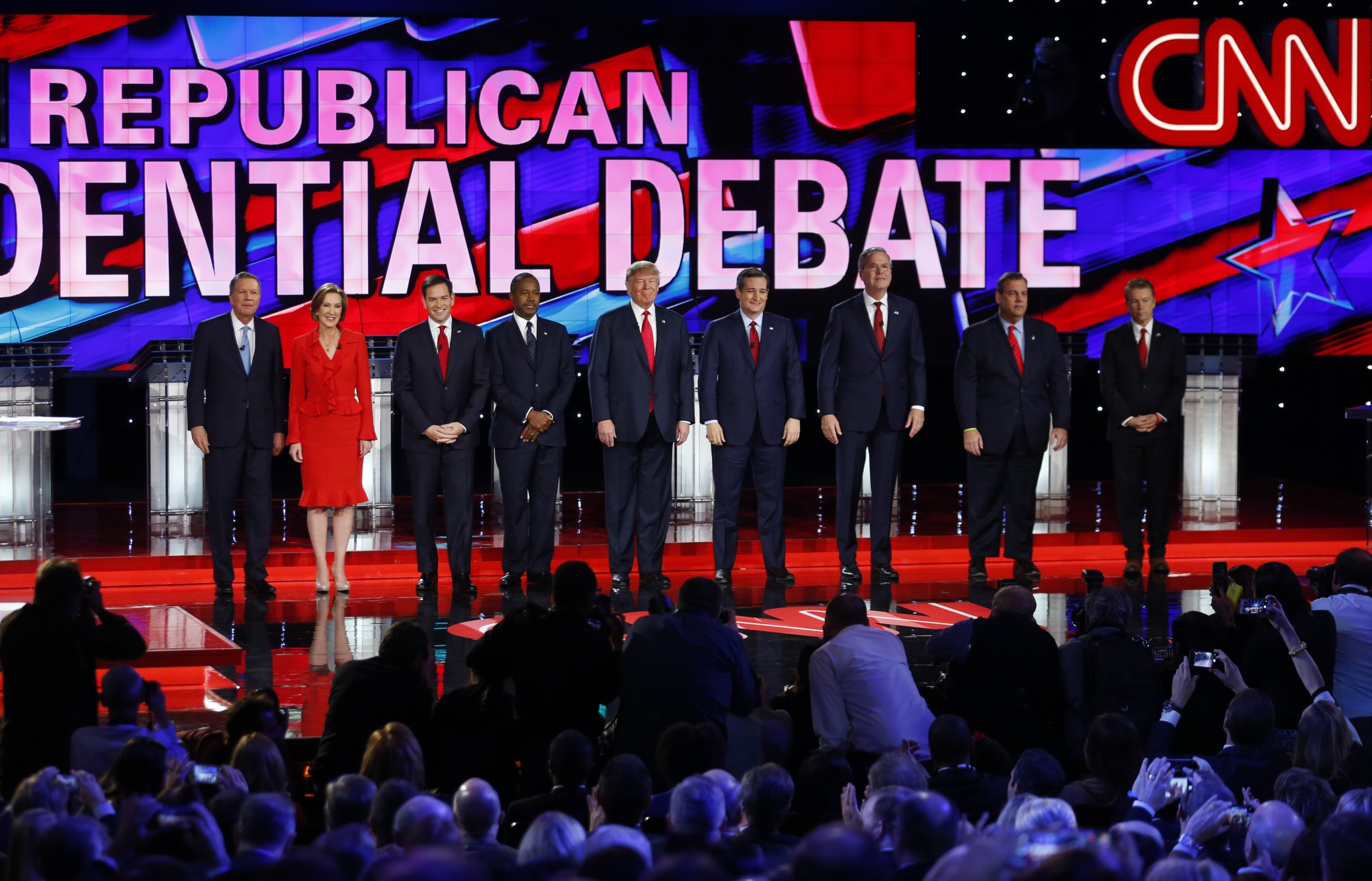 Top Moments of the Fifth and Final Republican Debate of 2015