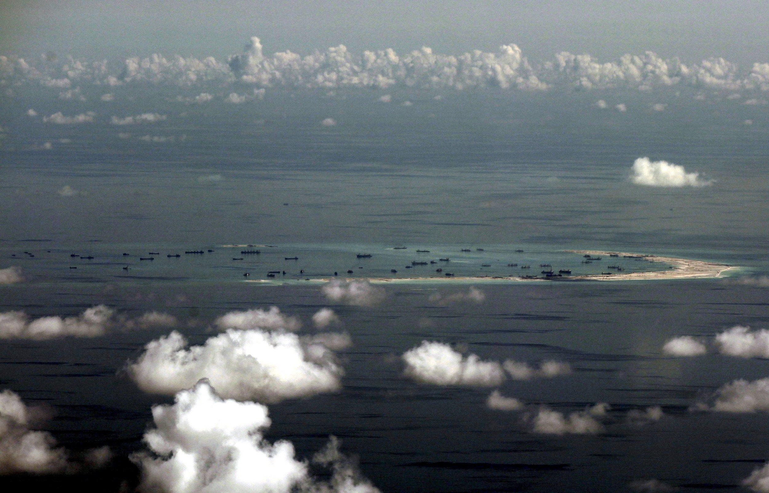 South China Sea B-52 bomber