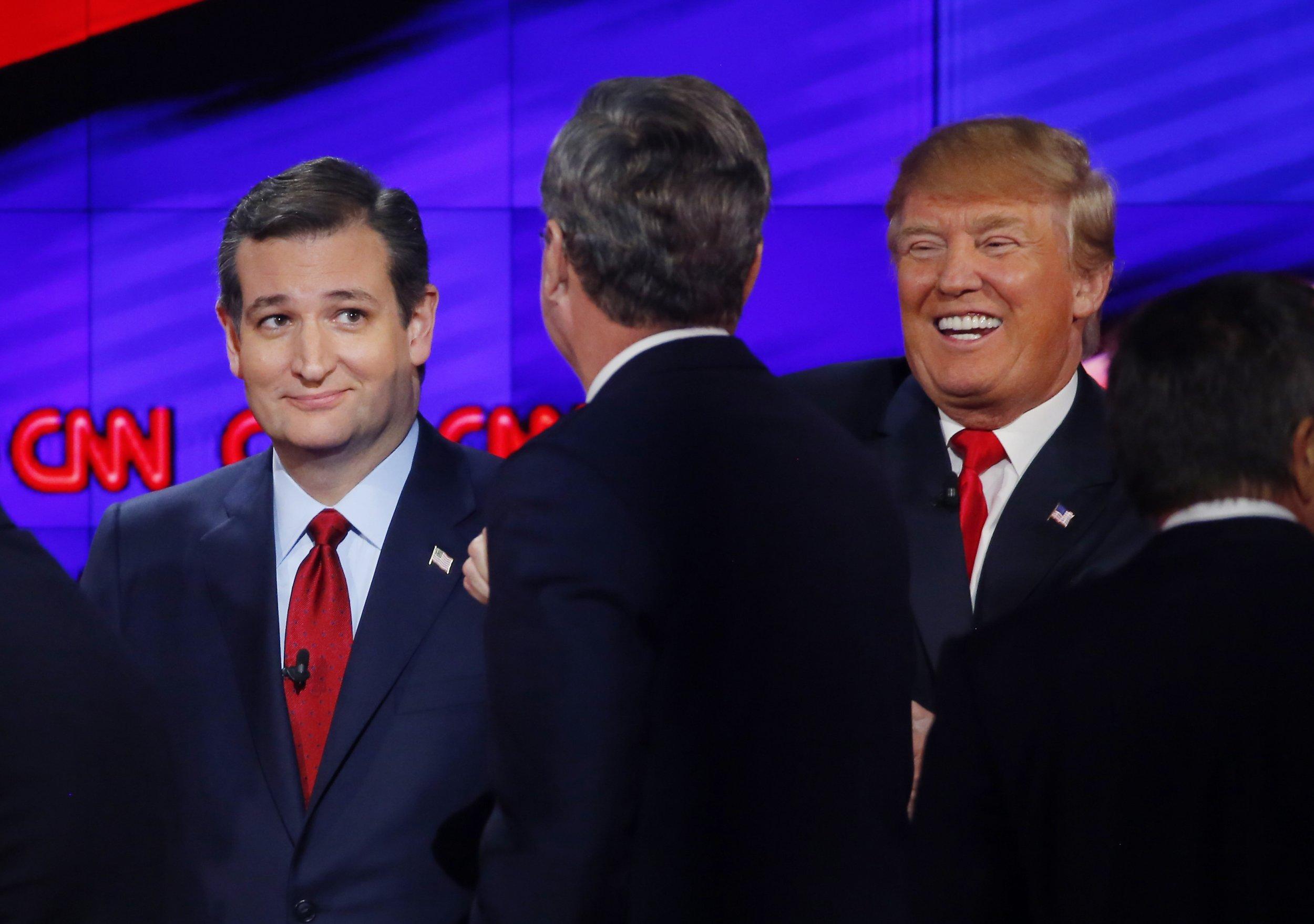 Ted Cruz Donald Trump poll