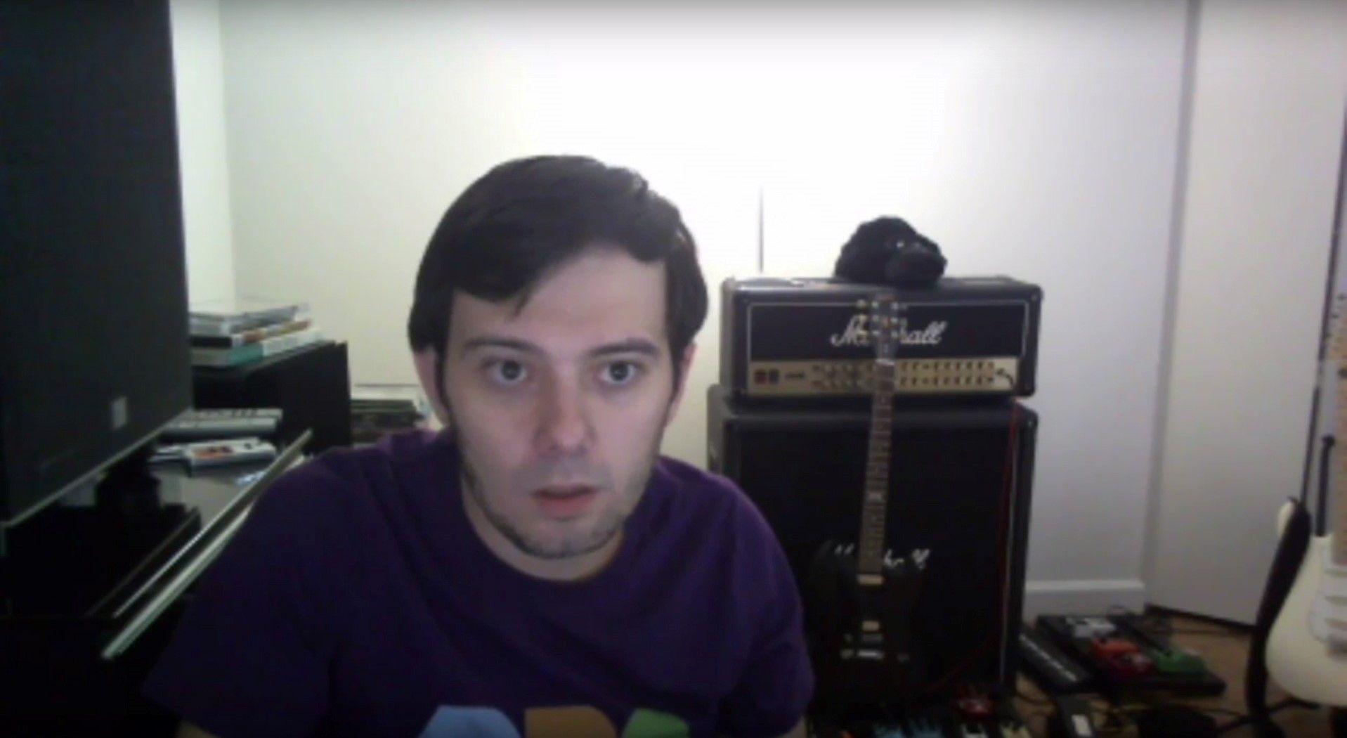 Martin Shkreli live stream