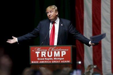 """donald trump uses word """"schlonged"""" to describe clinton"""
