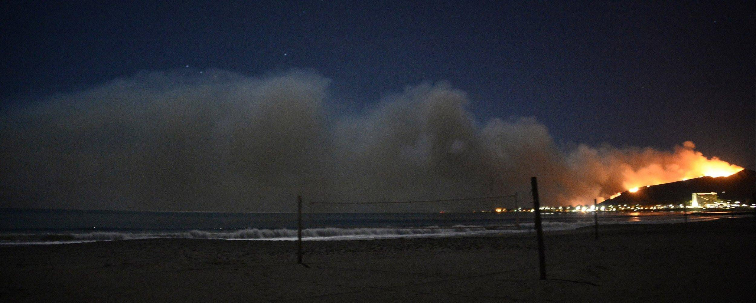 solimar wildfire california