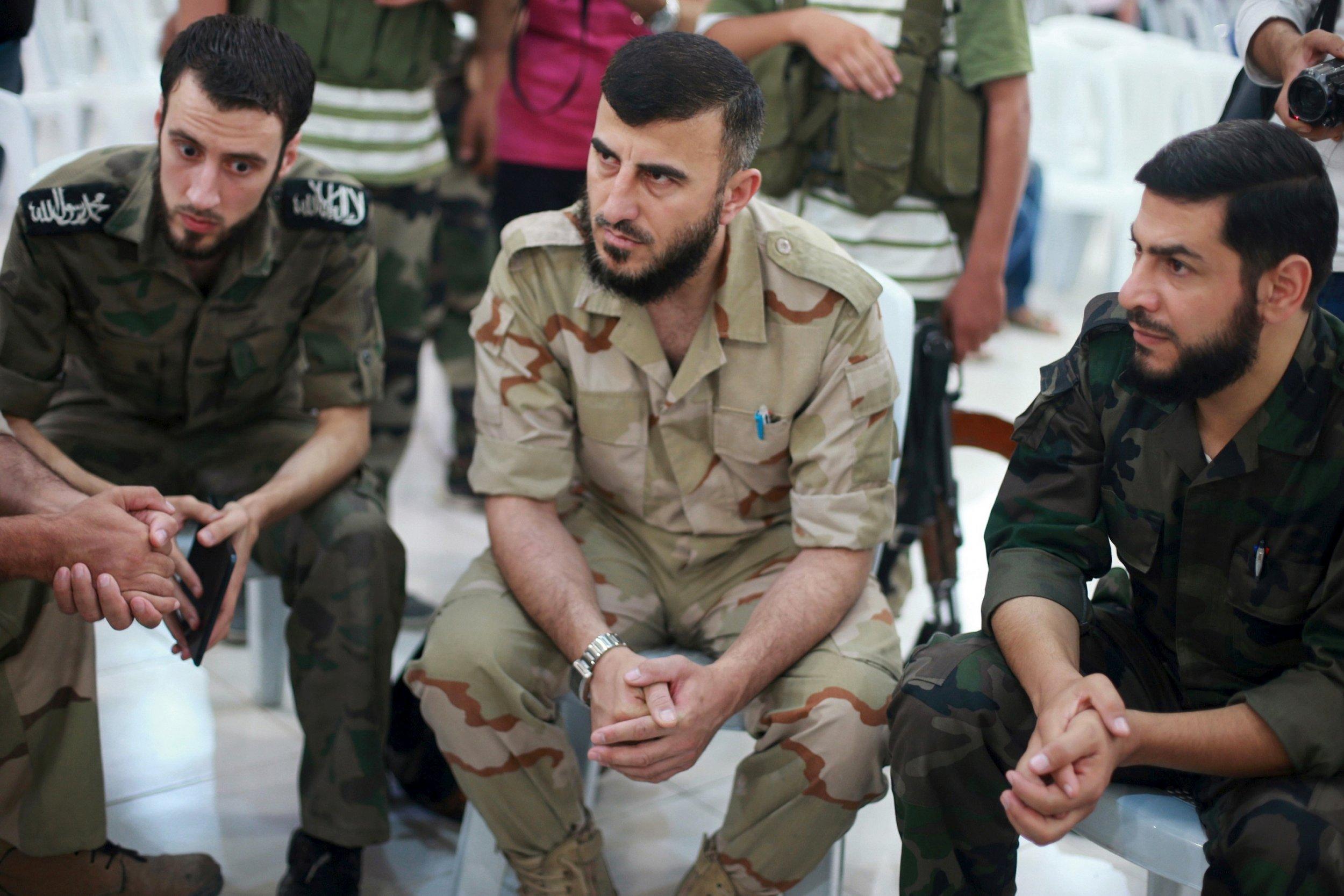 Zahran Alloush's death hurts peace talks: US