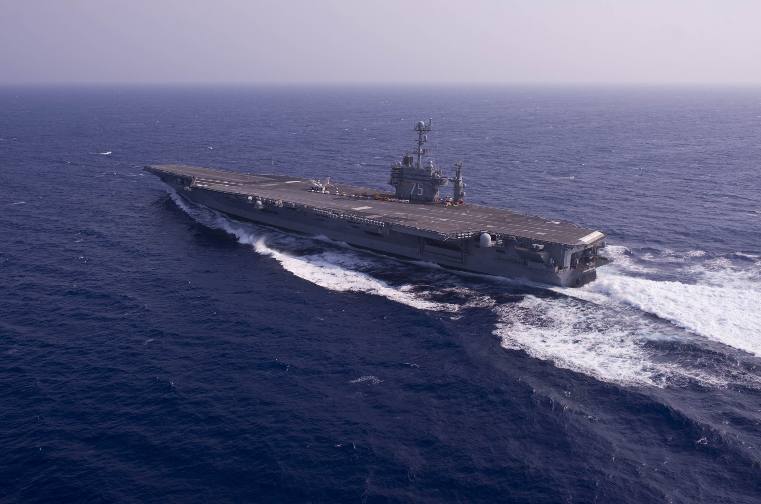 Iran fires missiles near USS Harry S. Truman