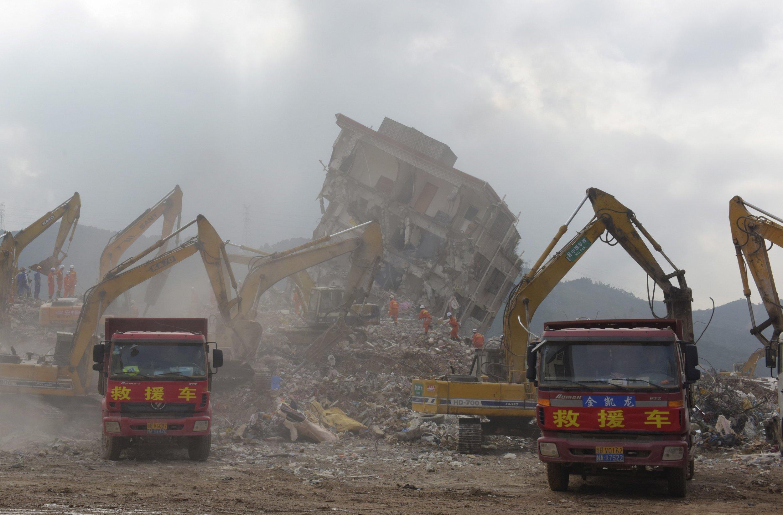 Eleven Arrested Over China Landslide