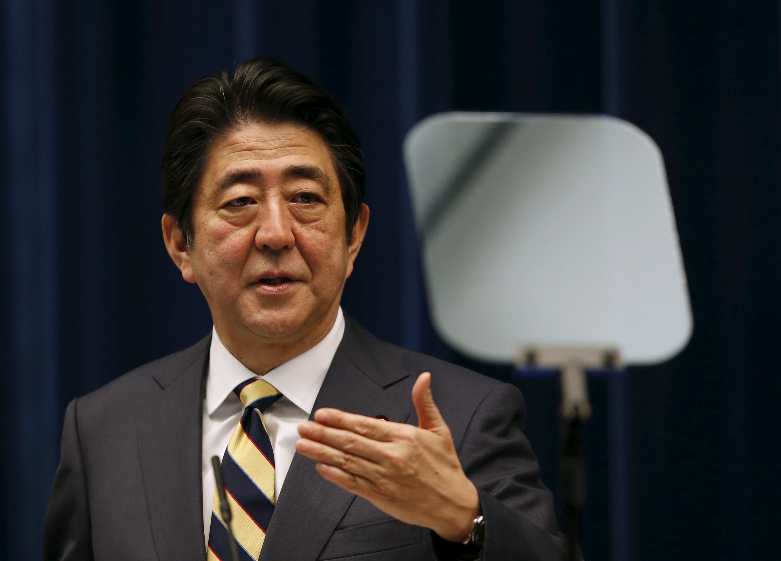 Japan wants peace with Russia