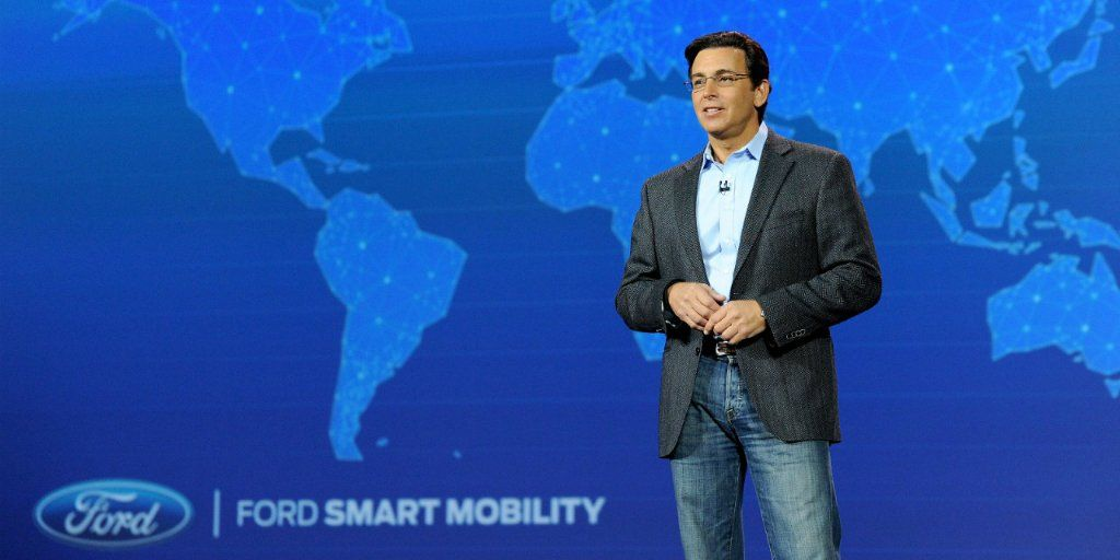Ford CEO Mark Fields CES