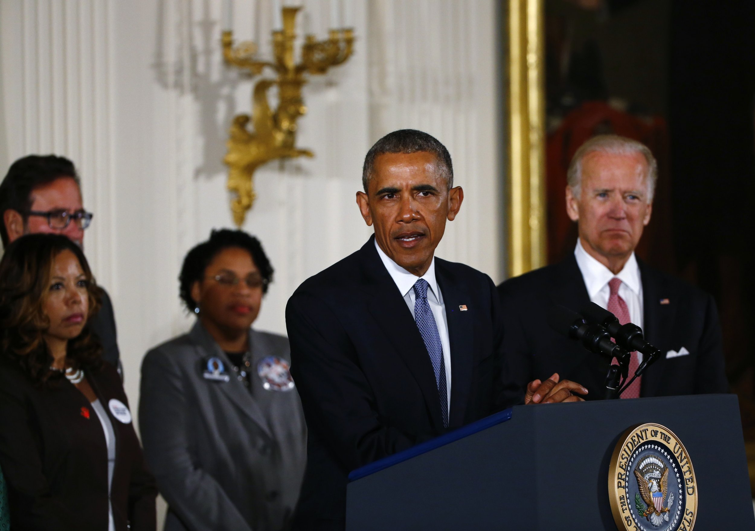 obama gun control The rise in gun violence, and its most horrific episodes, brought us president barack obama to tears on tuesday afternoon flanked by the mothers of jordan davis and chris martinez, amid the memory of other victims of gun violence, obama delivered an urgent call and outlined an executive plan for.