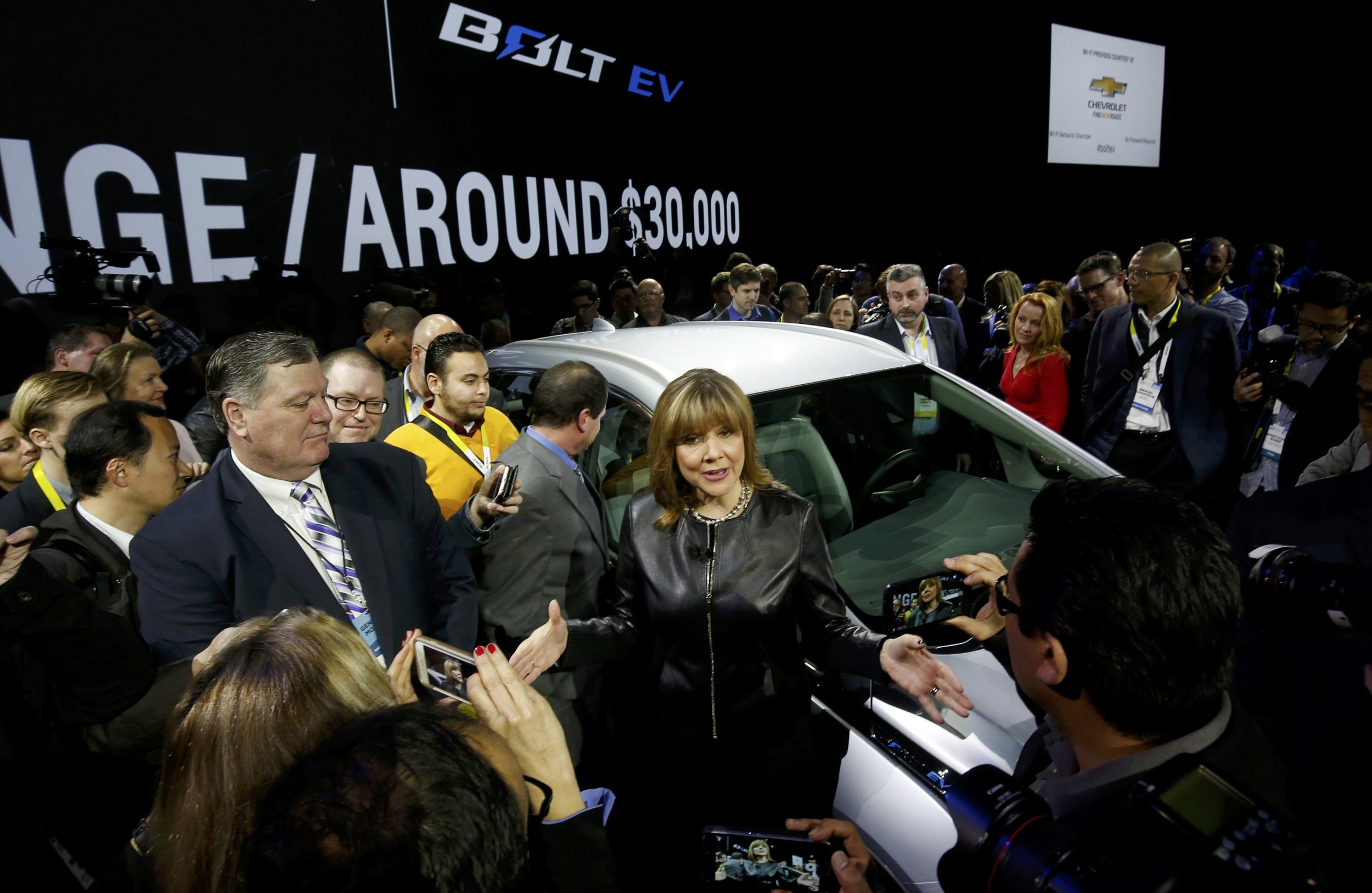Chevy Bolt unveiled at CES