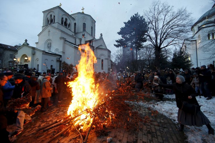 In Pictures: The World's Orthodox Christians Say Merry Christmas