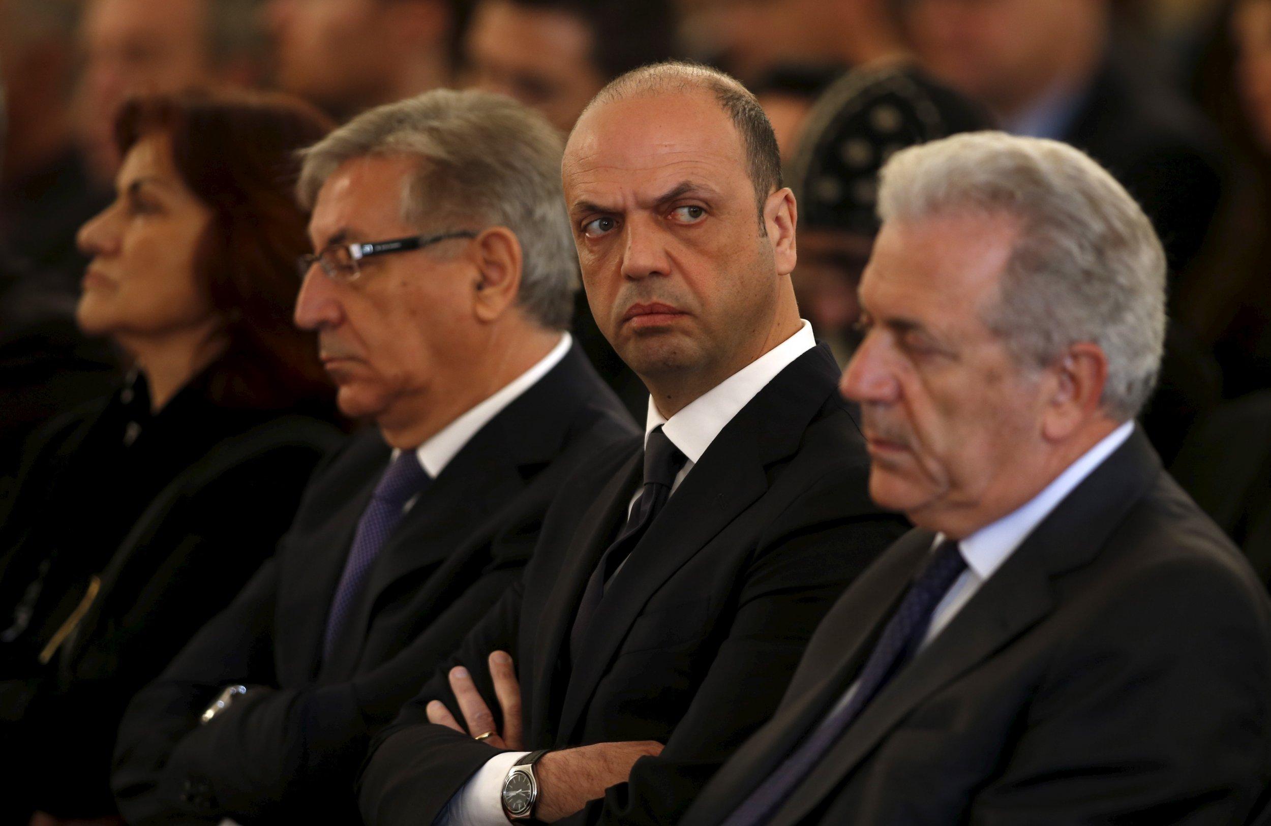 April 23, 2015, Italy Interior Minister
