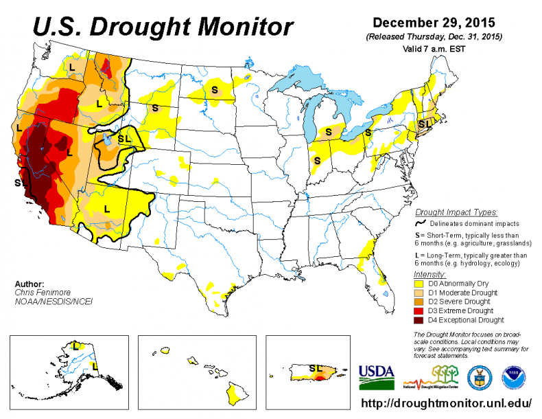 There's Still a Drought in California and the West