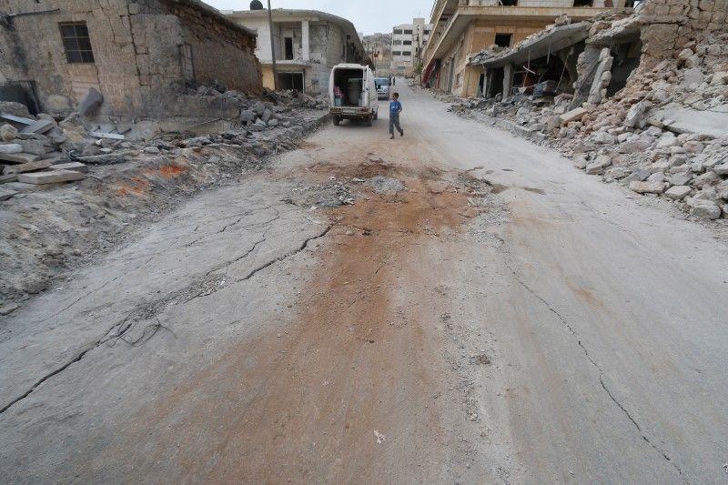 Eight Children, Teacher Killed in Russian Airstrike on Aleppo School: Monitor