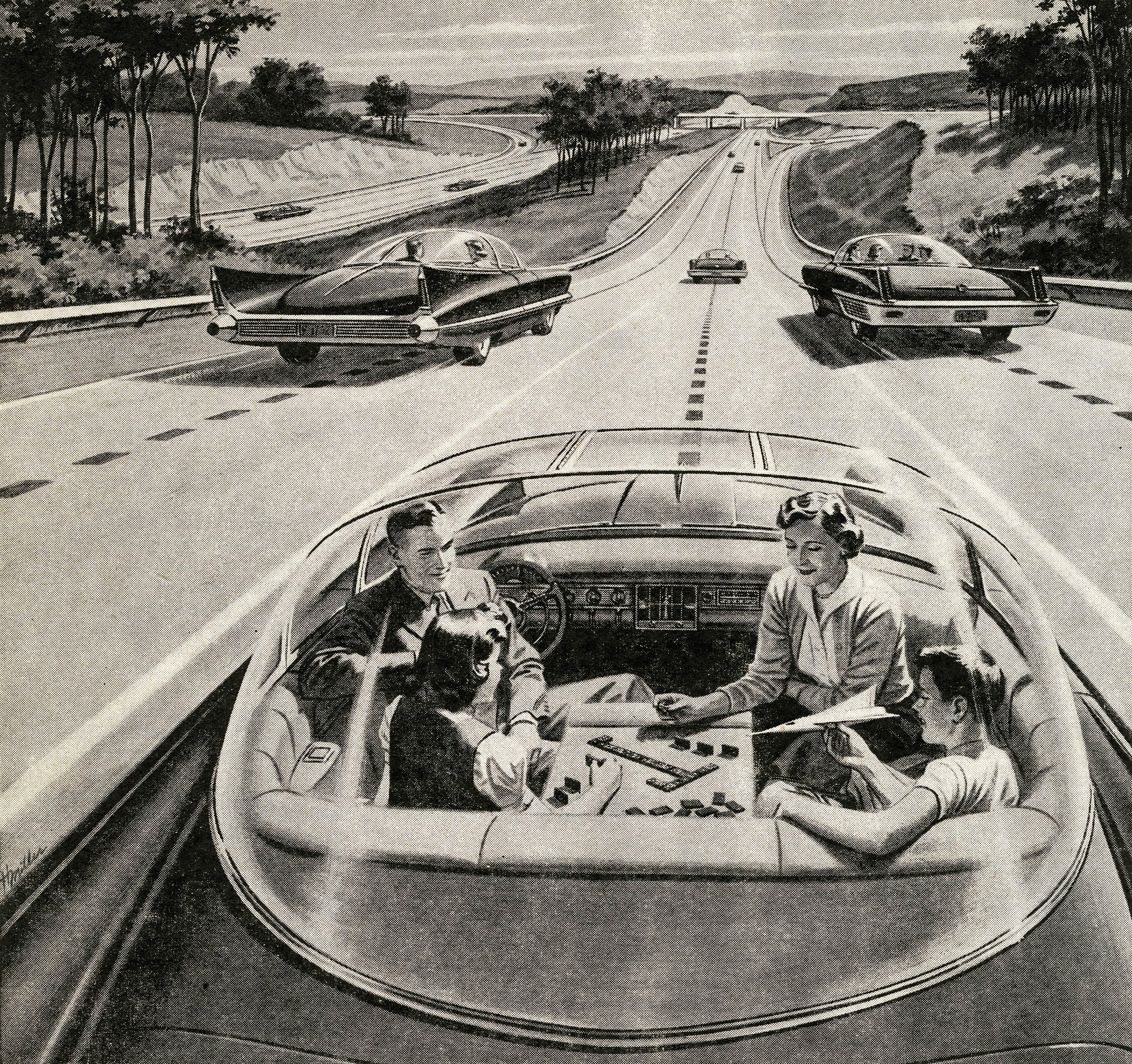 What The World Will Look Like Without Drivers