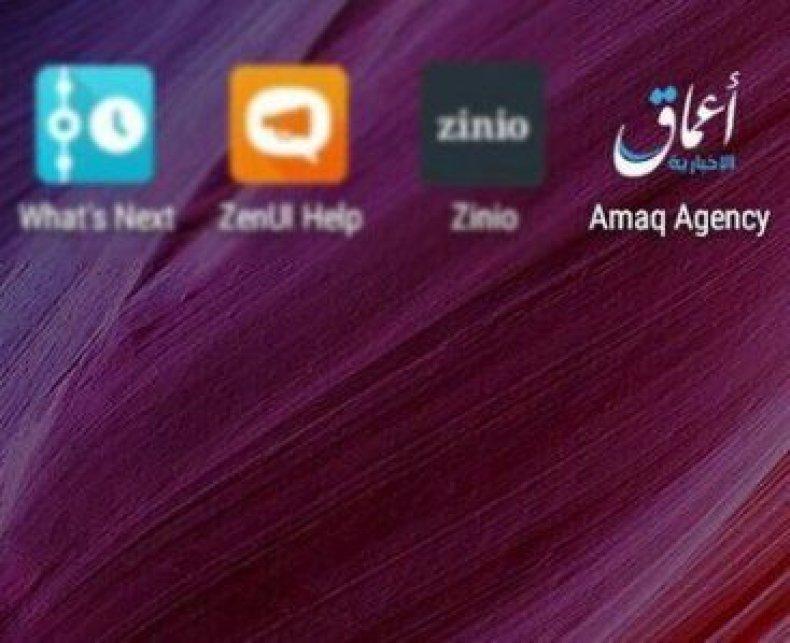 isis app amaq agency