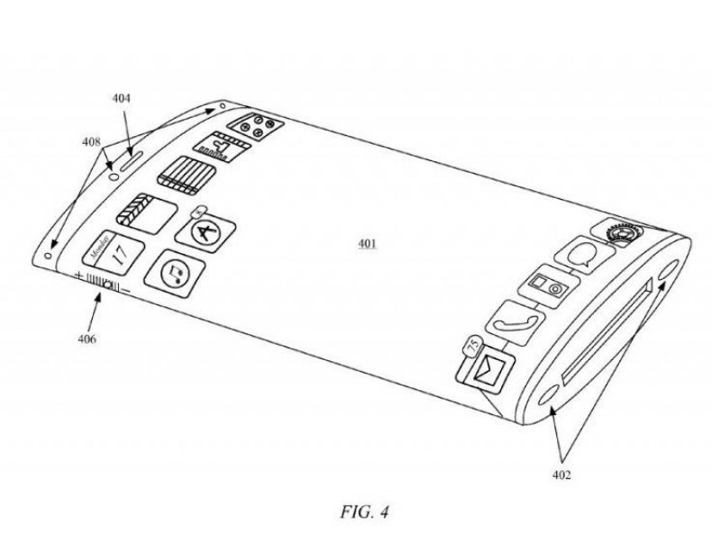 iphone 7 screen apple patent