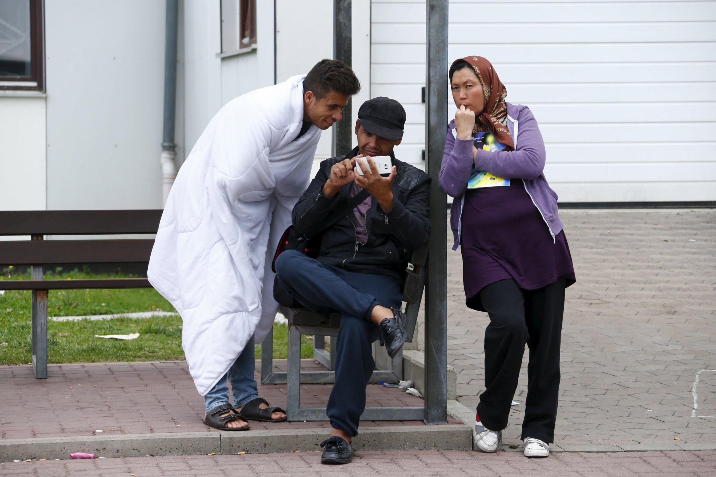 refugee smartphone app ankommen germany