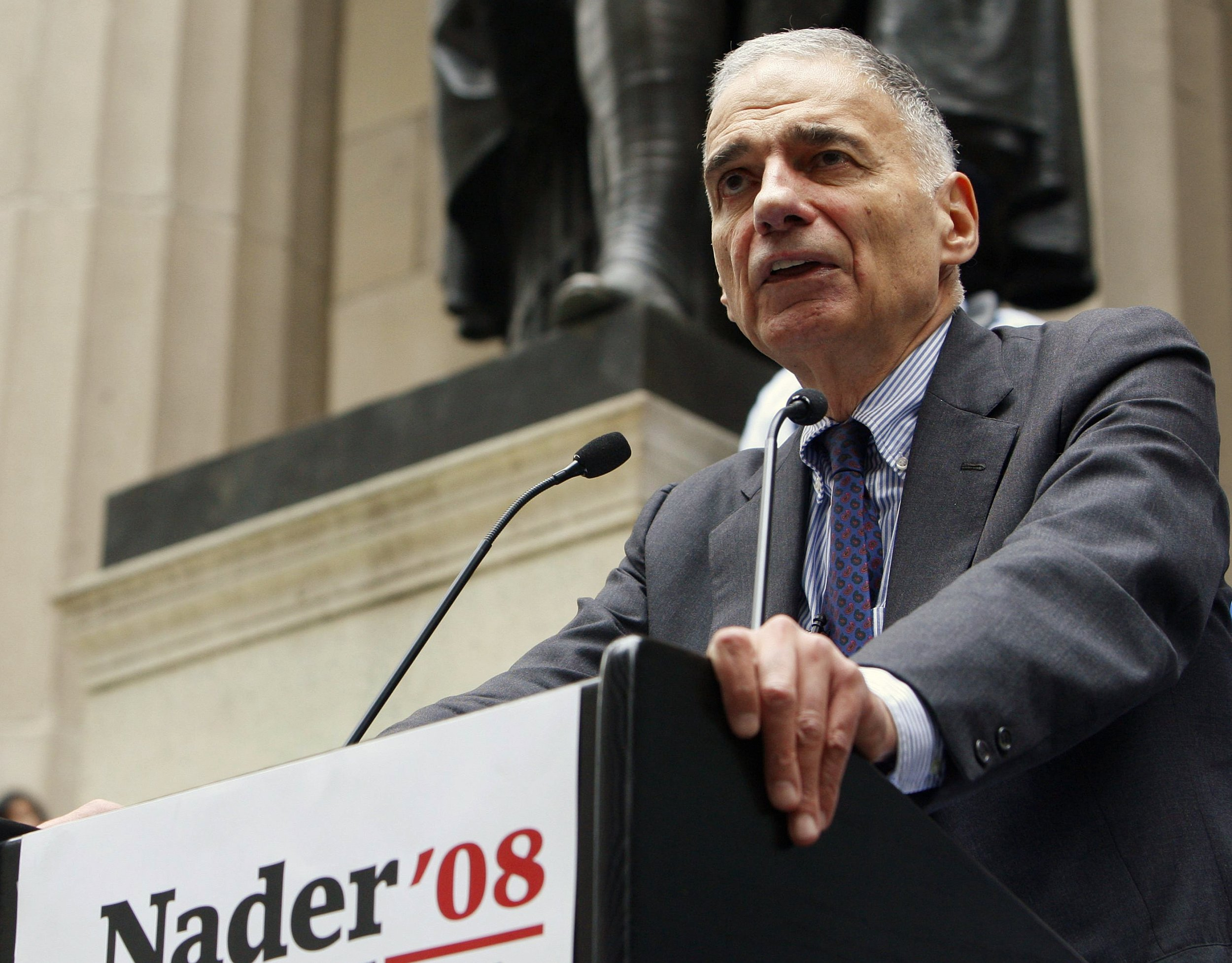 Ralph Nader on the Democratic Presidential Race: 'Bernie's ...