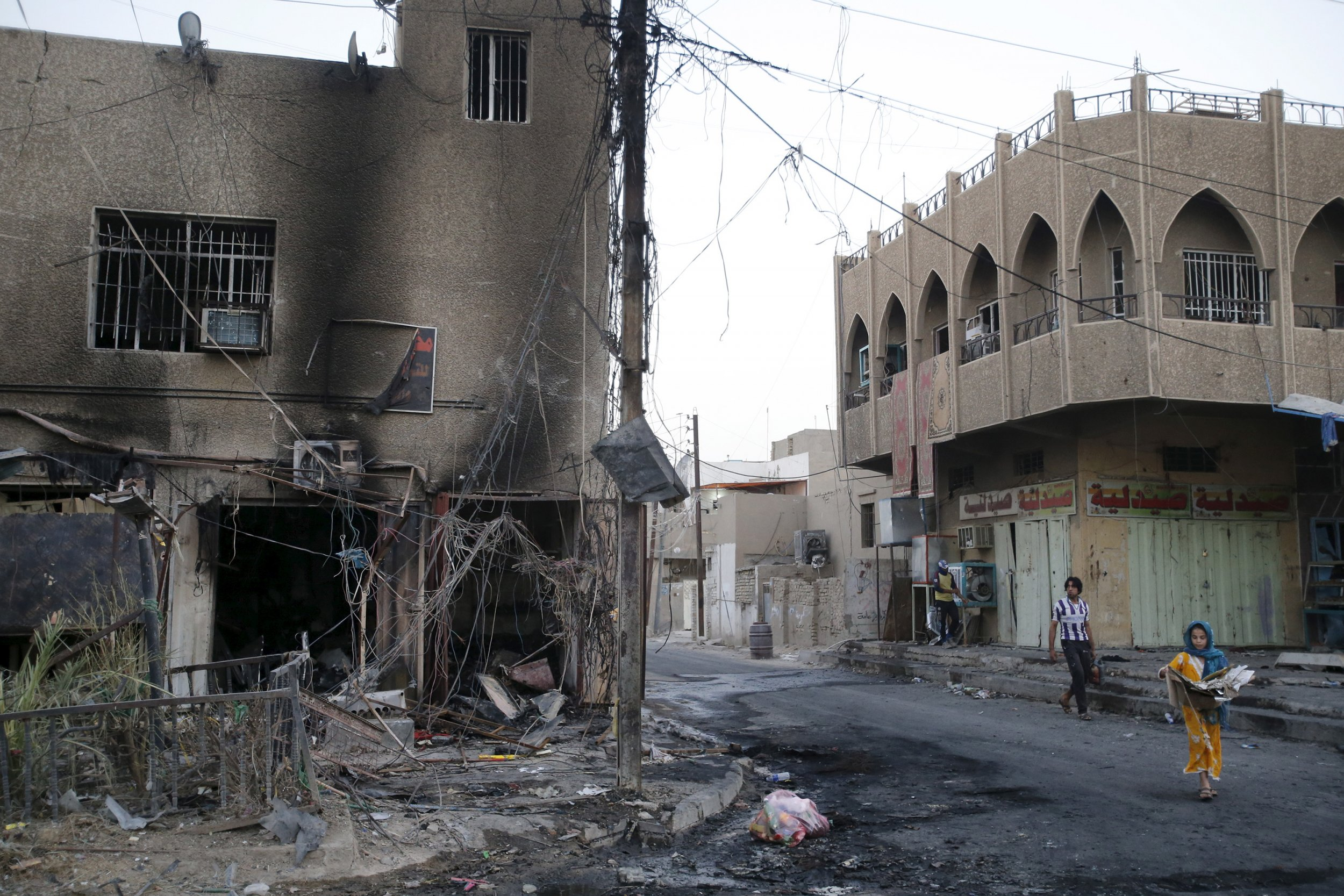U S  Embassy in Iraq Confirms 'Several' Americans Kidnapped