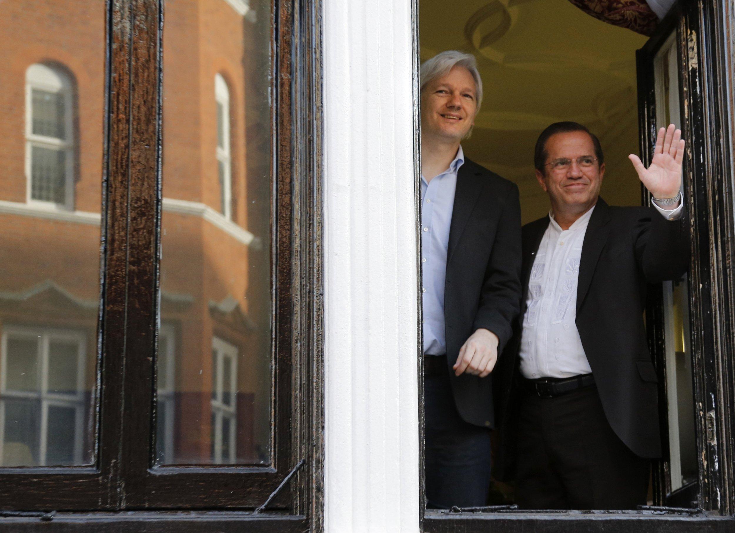 Julian Assange Wikileaks Ecuador embassy Patino sweden