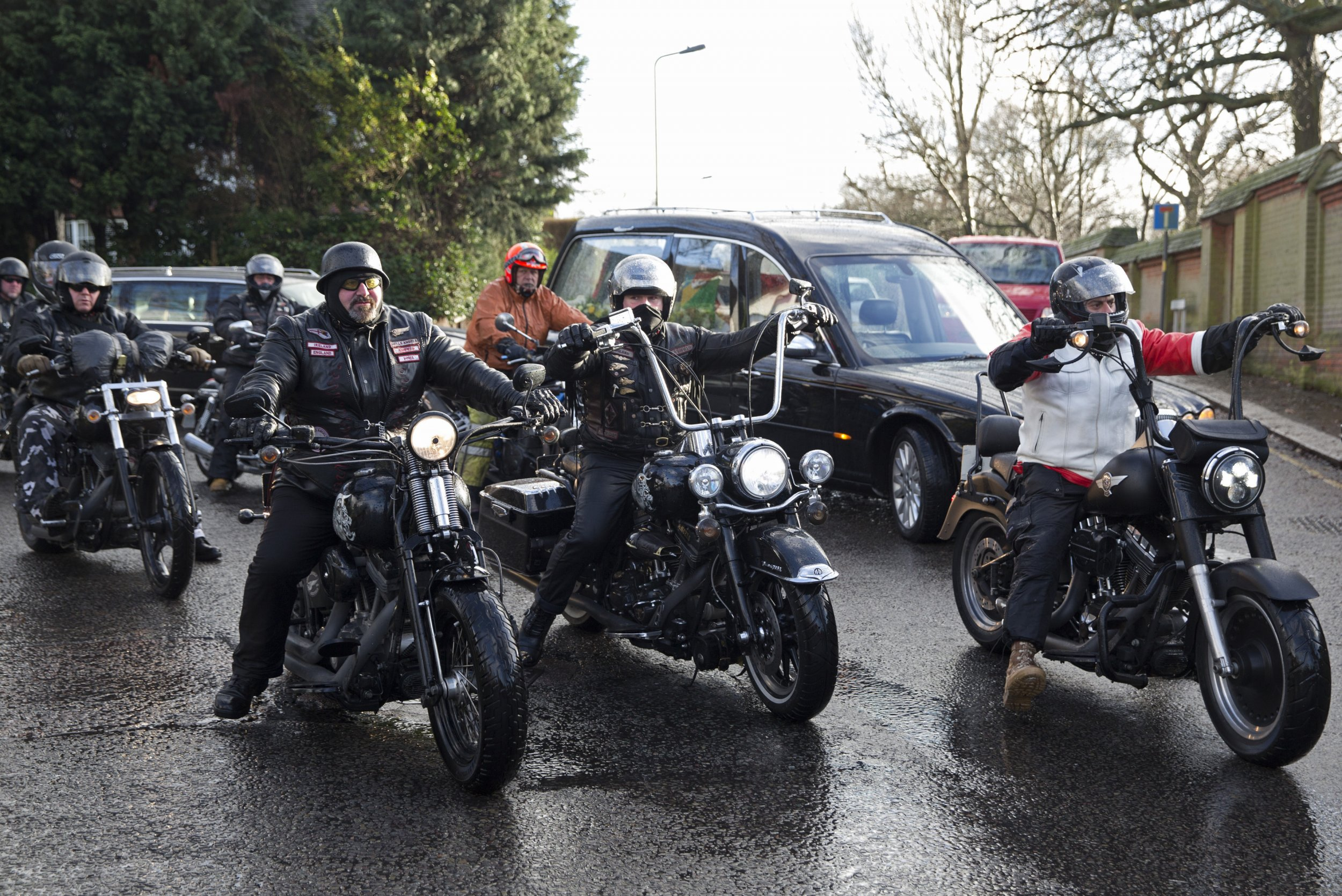 Refugees in Denmark, the Hells Angels Have Got Your Back