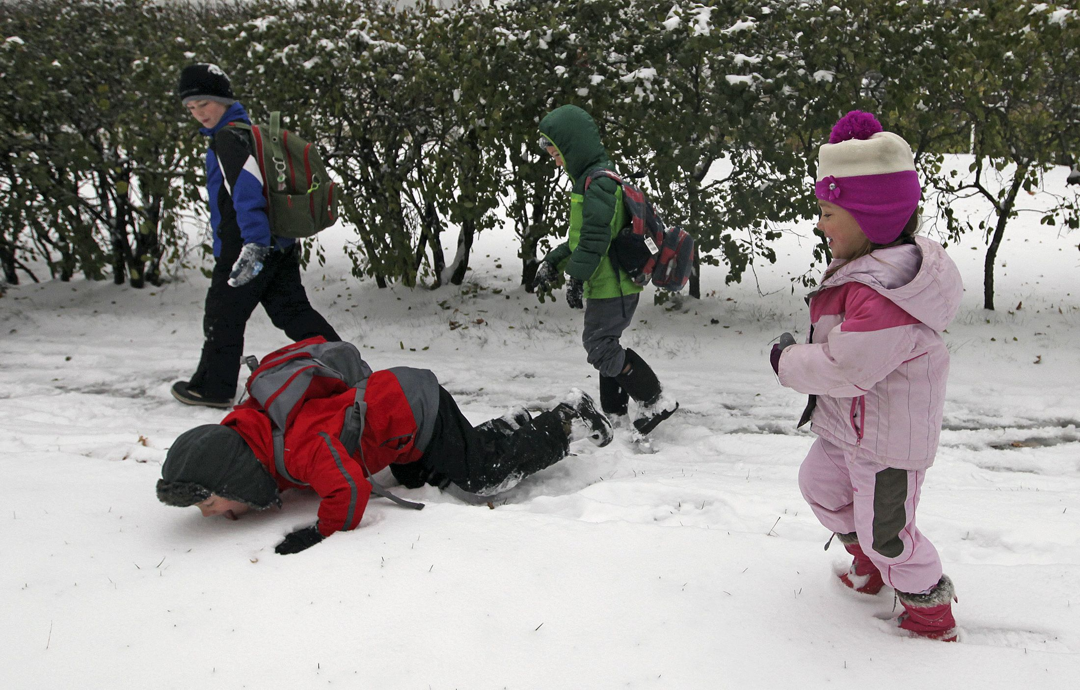 Don't Eat The Snow, It's Toxic