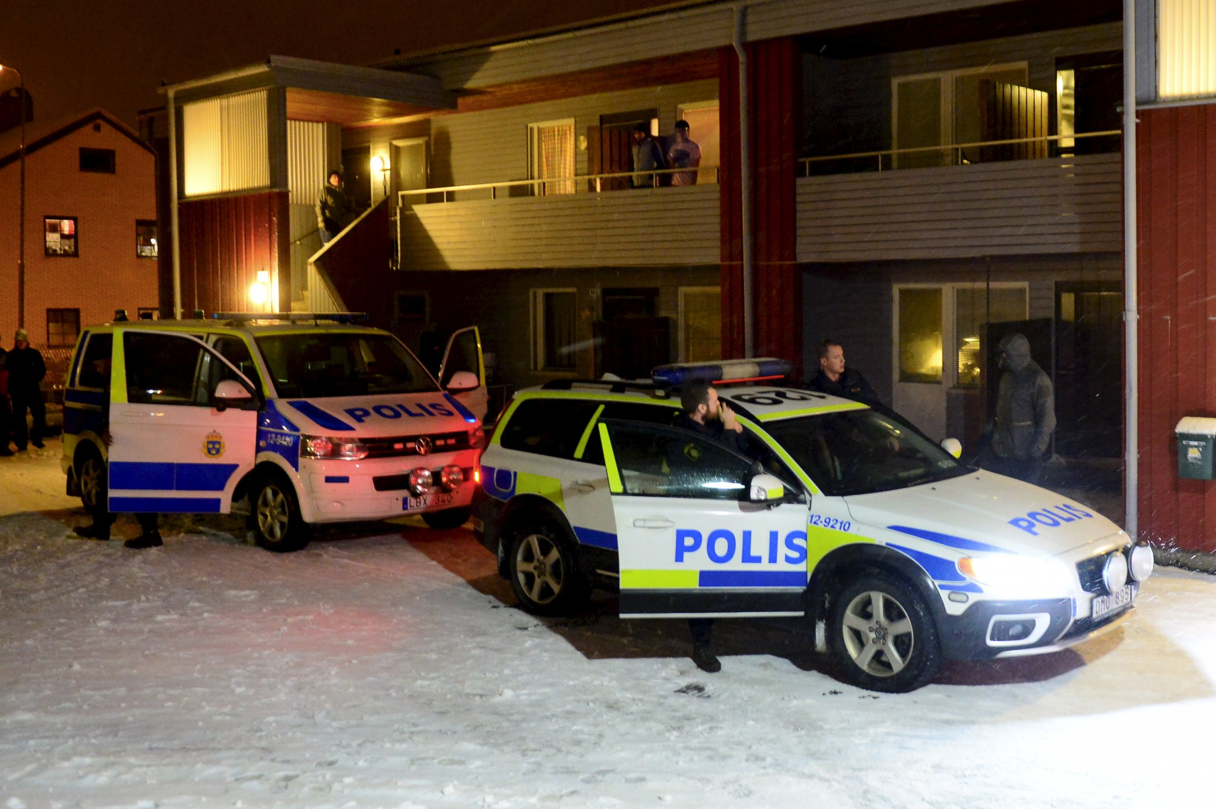 Stabbing at Swedish Asylum Center