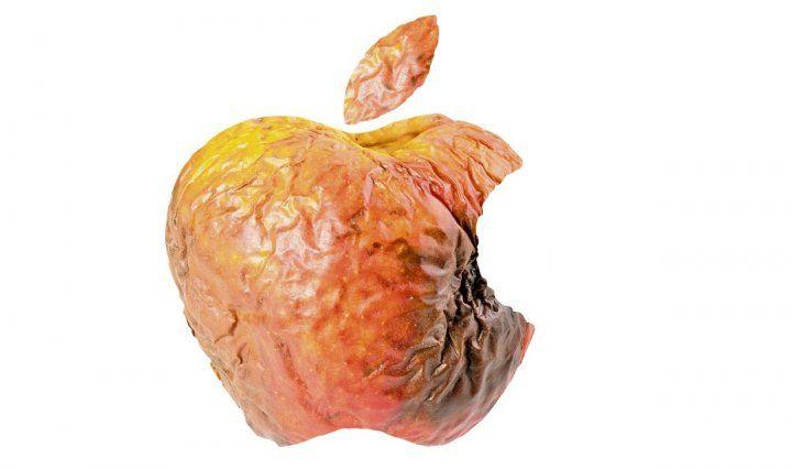 Apple iphone death rotten 5se car