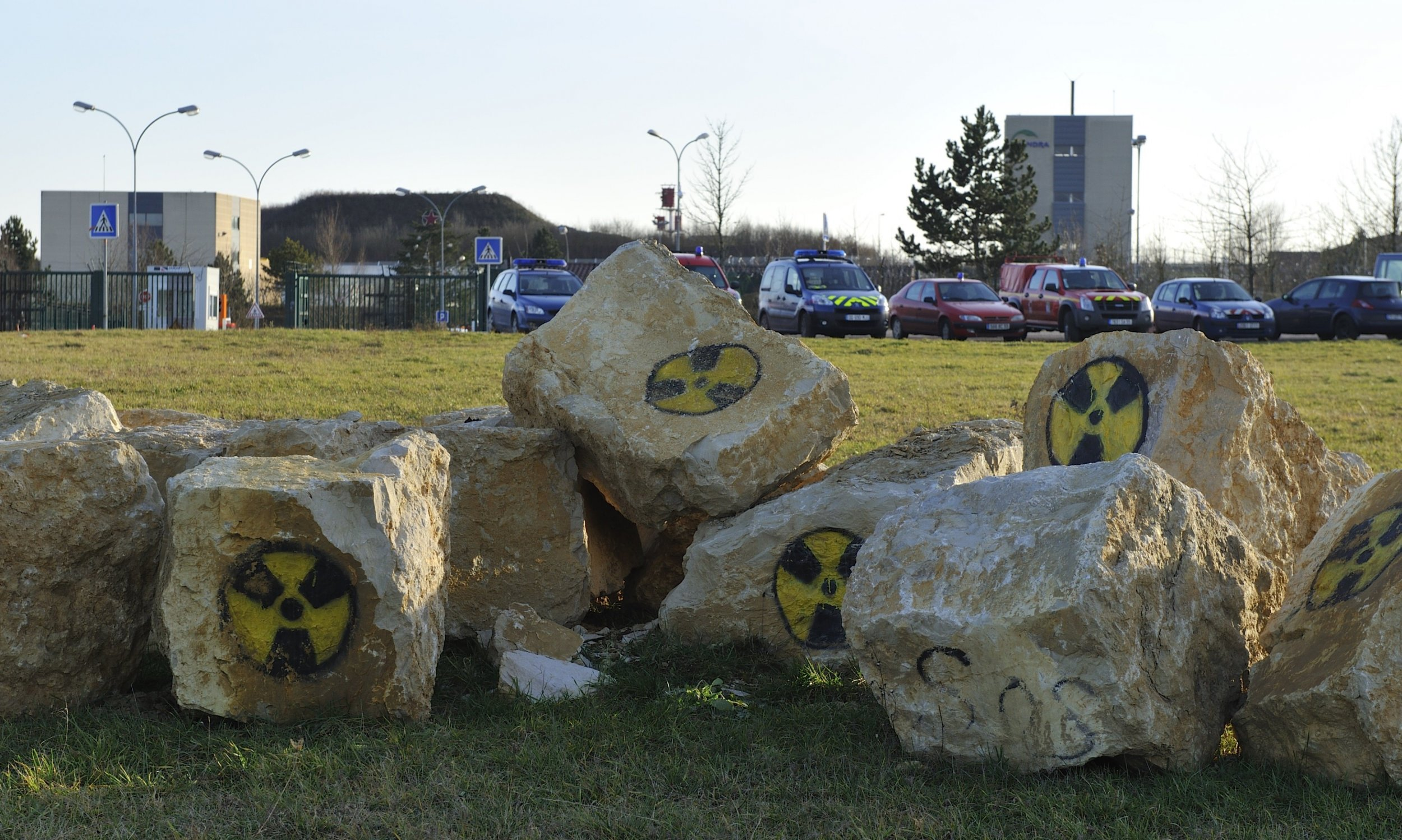 Nuclear waste site
