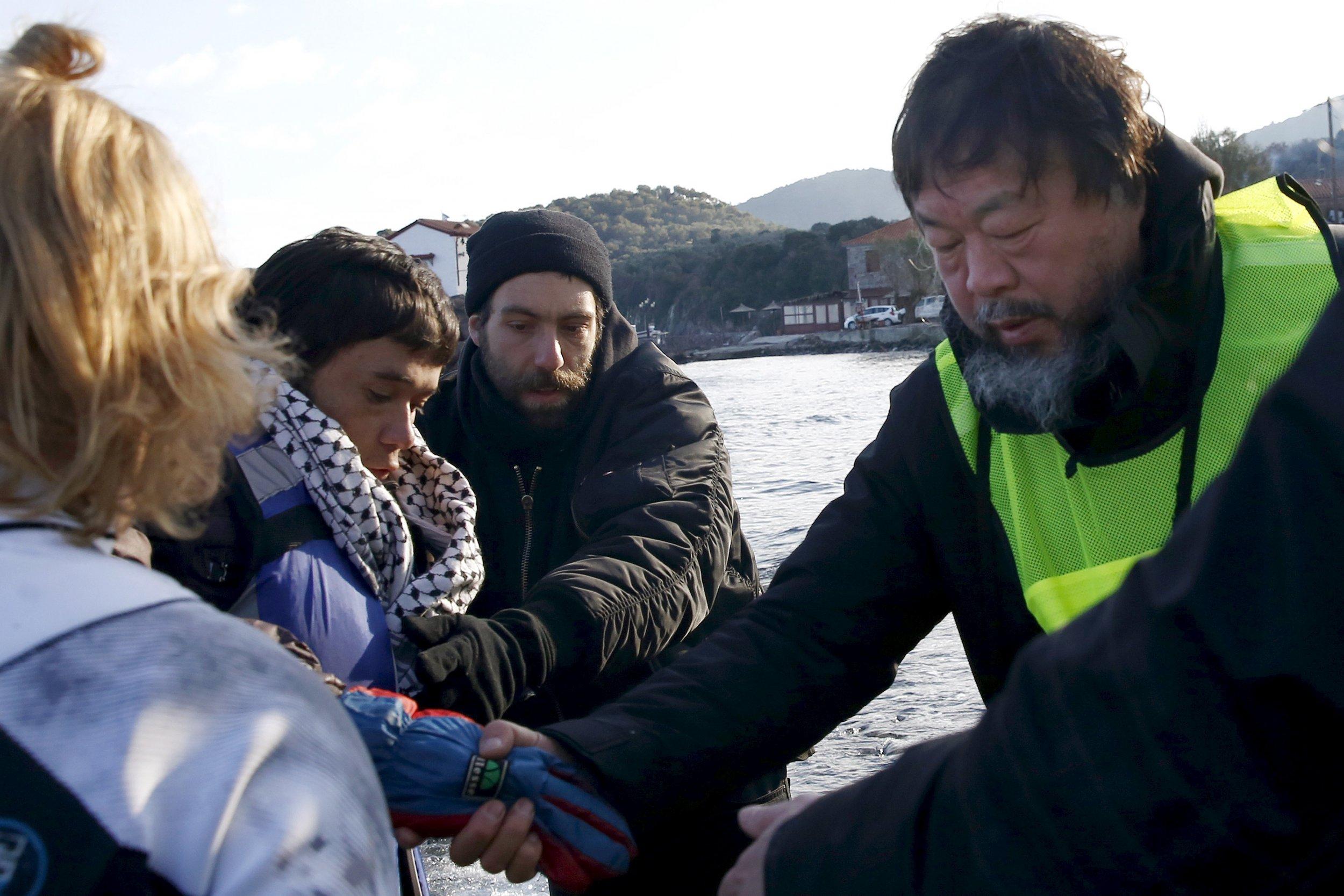 1-27-16 Ai Weiwei refugees